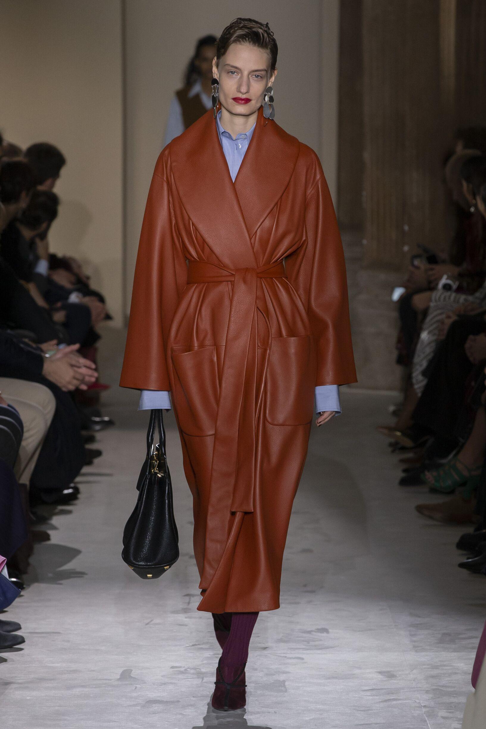 Catwalk Salvatore Ferragamo Women Fashion Show Winter 2019