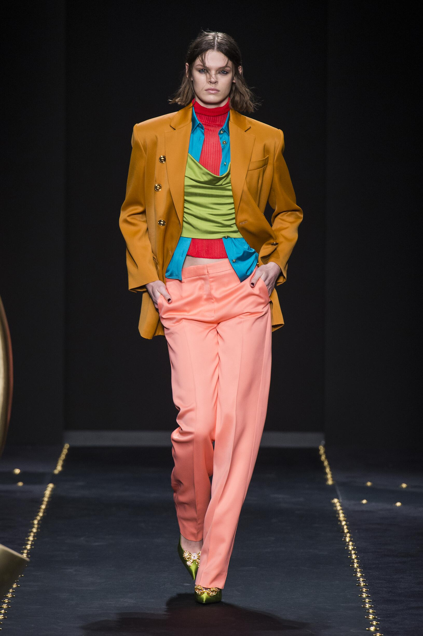 Catwalk Versace Winter 2019