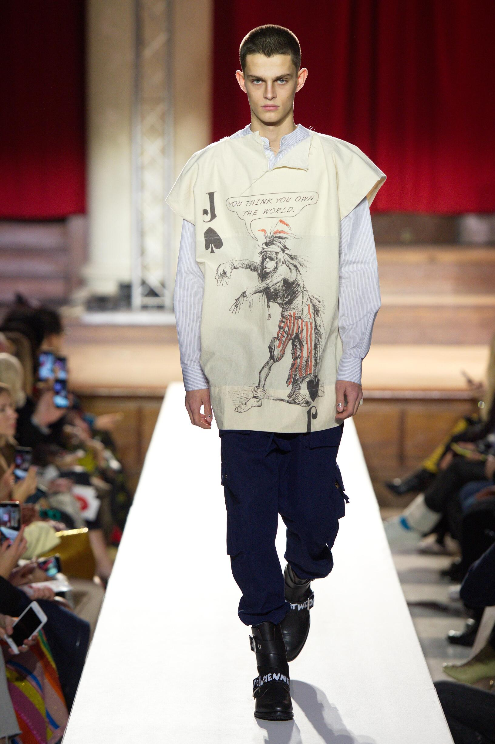 Catwalk Vivienne Westwood Man Fashion Show Winter 2019