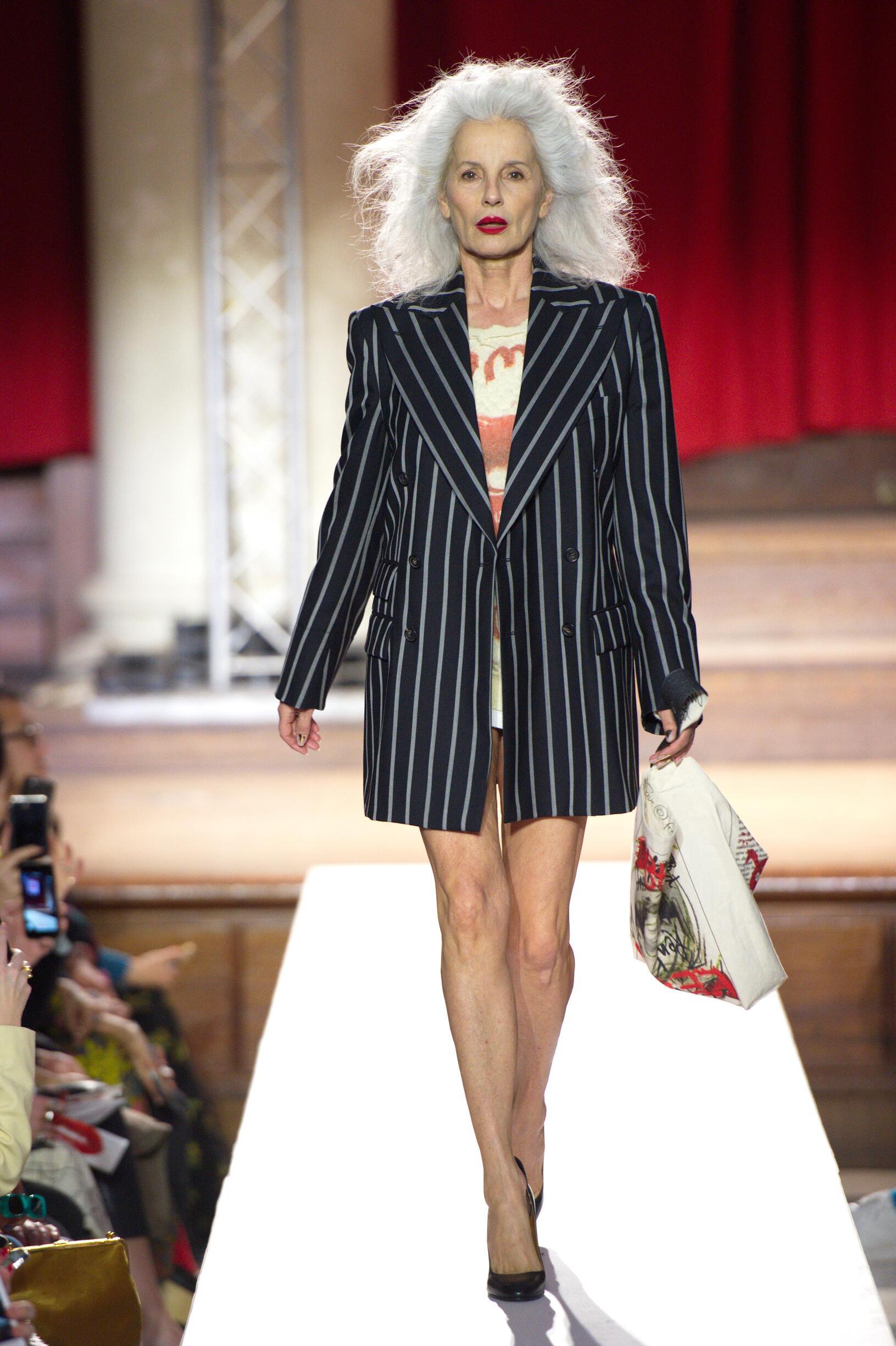 Catwalk Vivienne Westwood Women Fashion Show Winter 2019