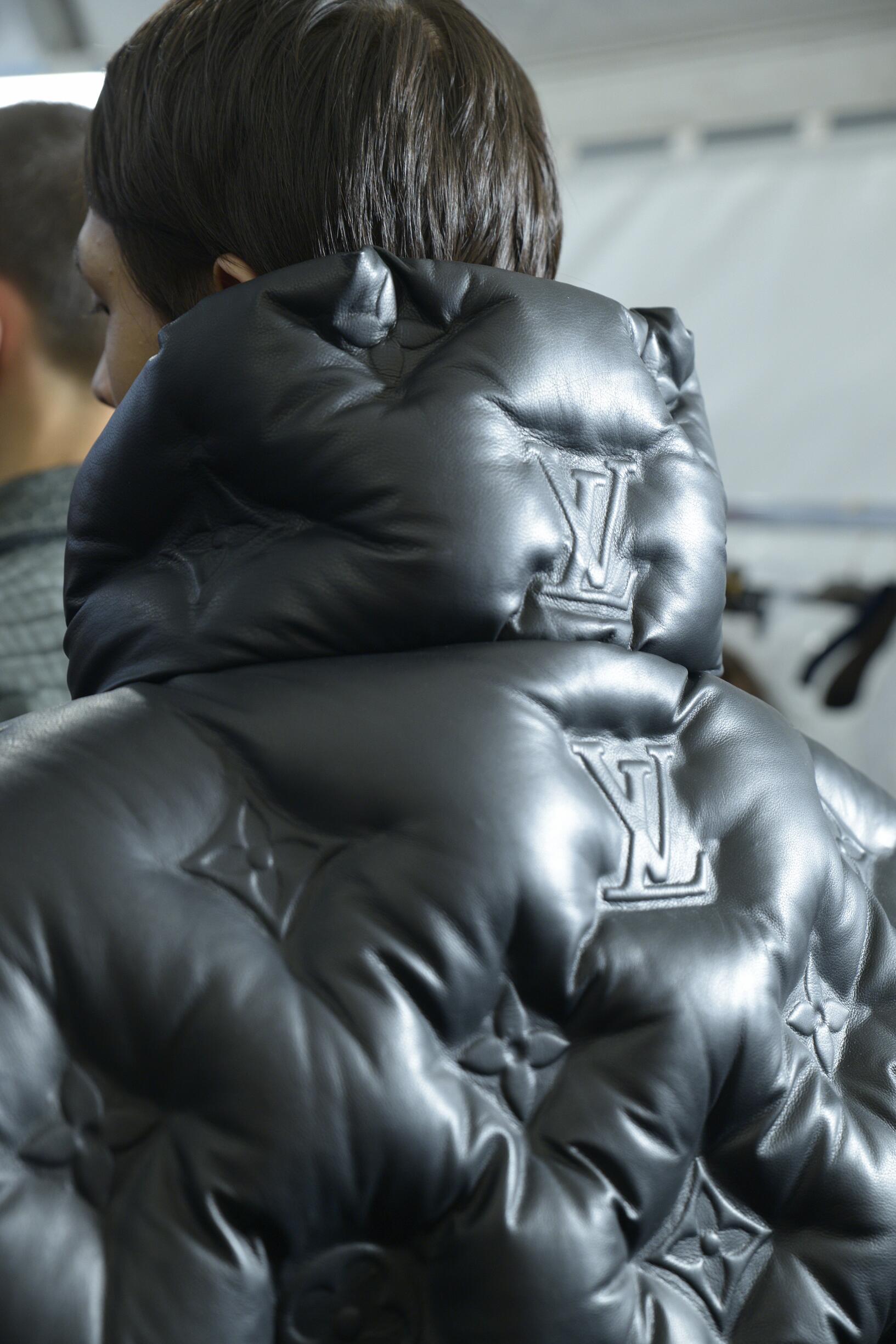 Detail Jacket Backstage Louis Vuitton
