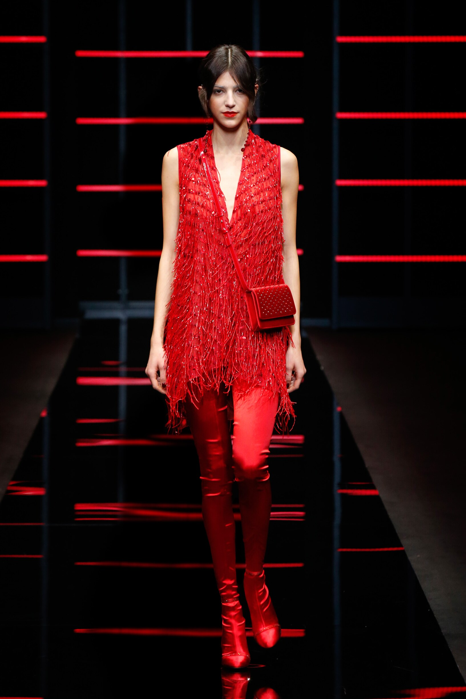 Emporio Armani Fall Winter 2019 Womens Collection Milan Fashion Week