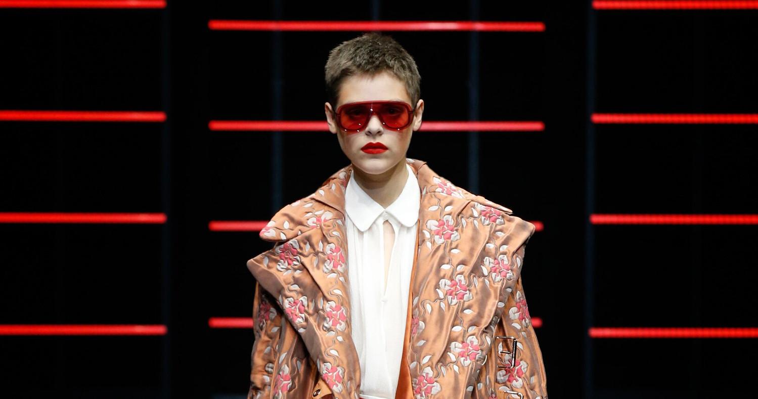 Emporio Armani Fashion Show FW 2019 Milan