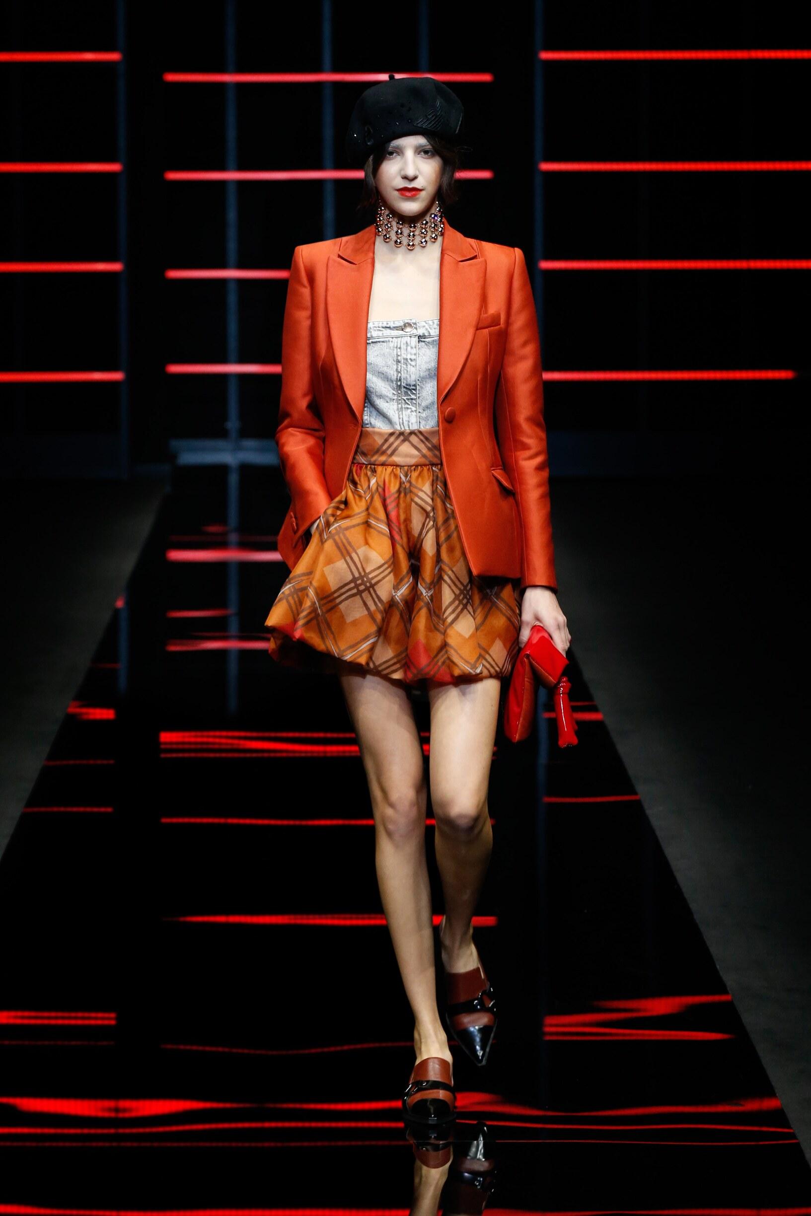 FW 2019-20 Fashion Show Emporio Armani