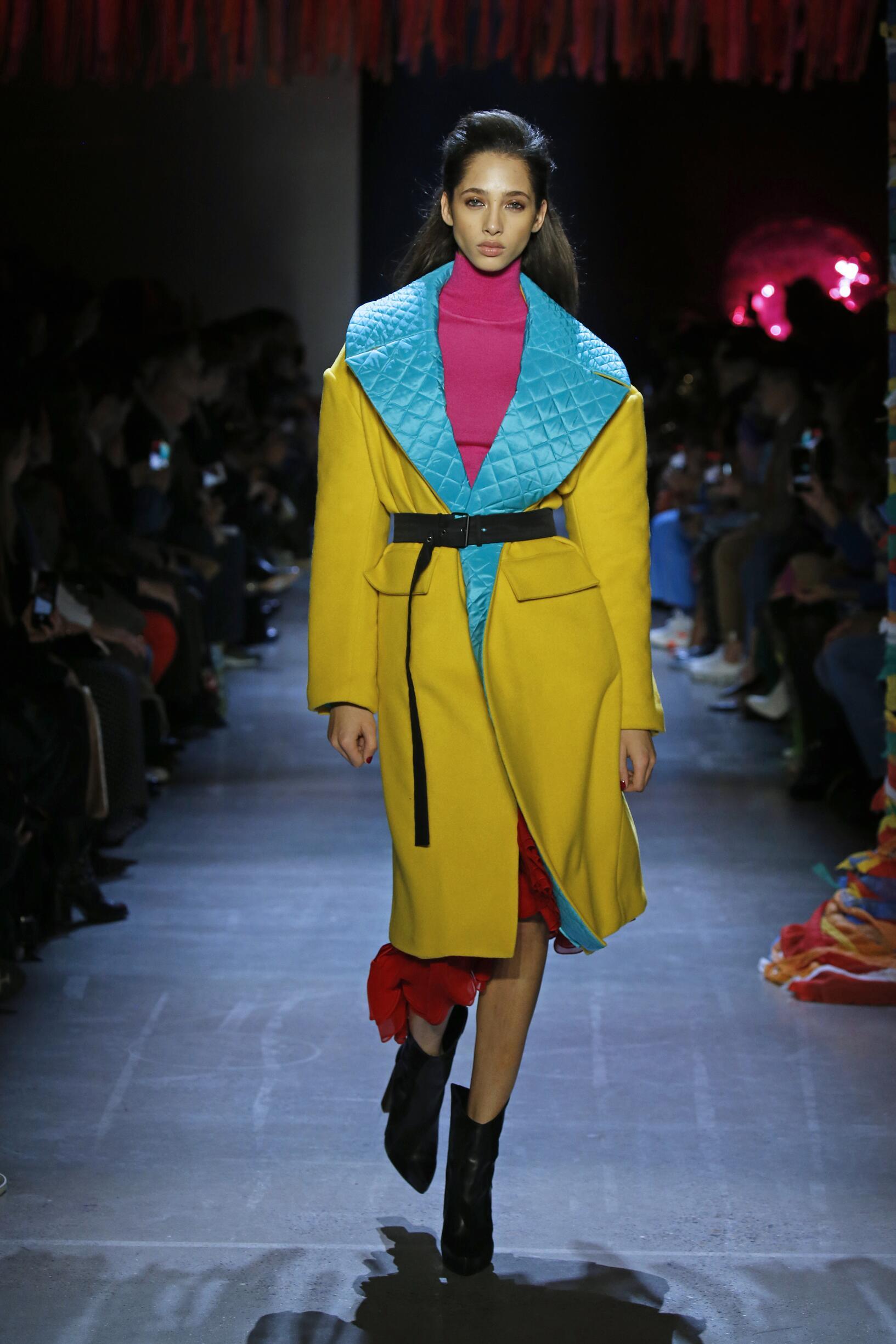 FW 2019-20 Fashion Show Prabal Gurung