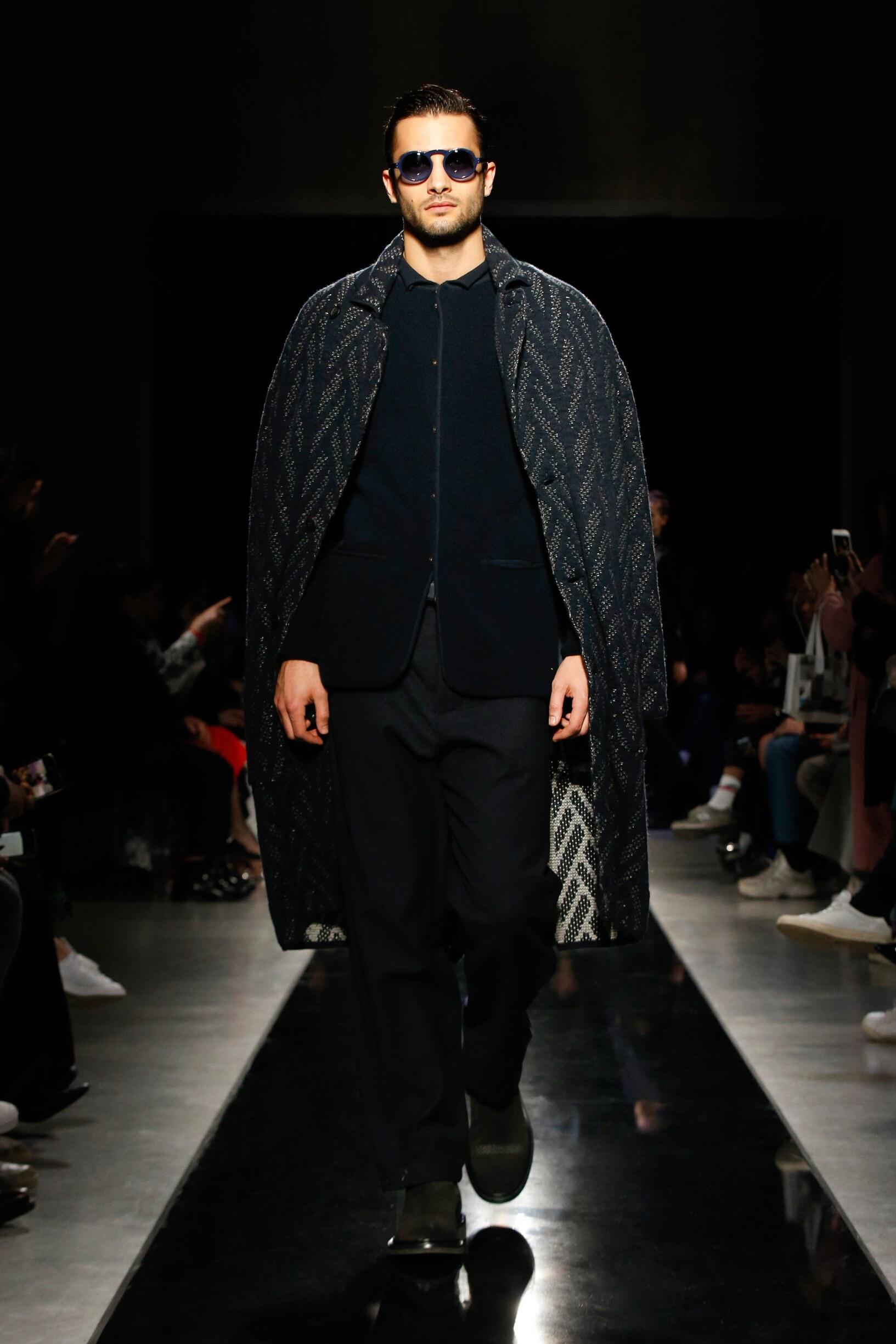 FW 2019-20 Giorgio Armani Fashion Show