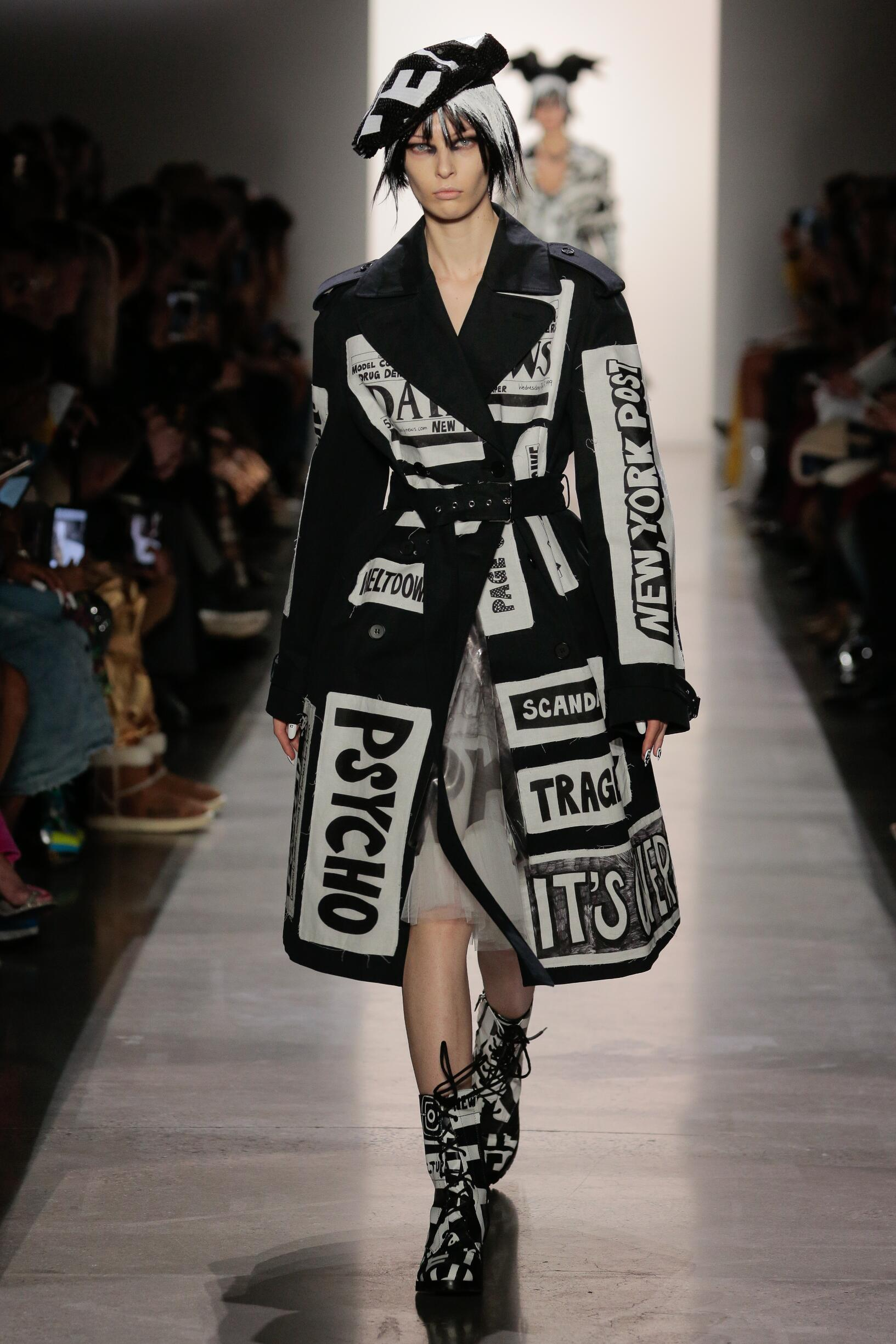 FW 2019-20 Jeremy Scott Fashion Show