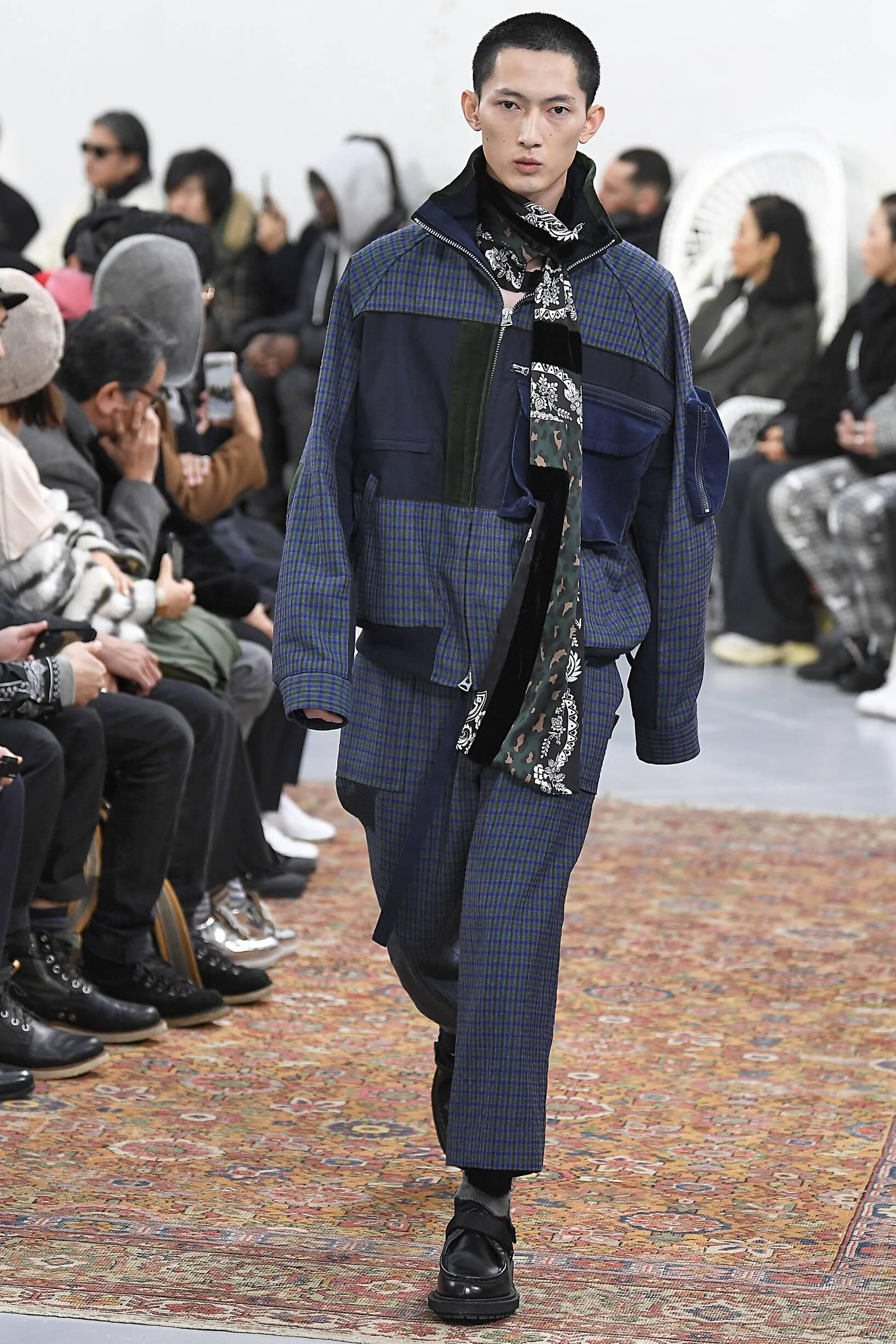 FW 2019-20 Sacai Fashion Show Paris Fashion Week