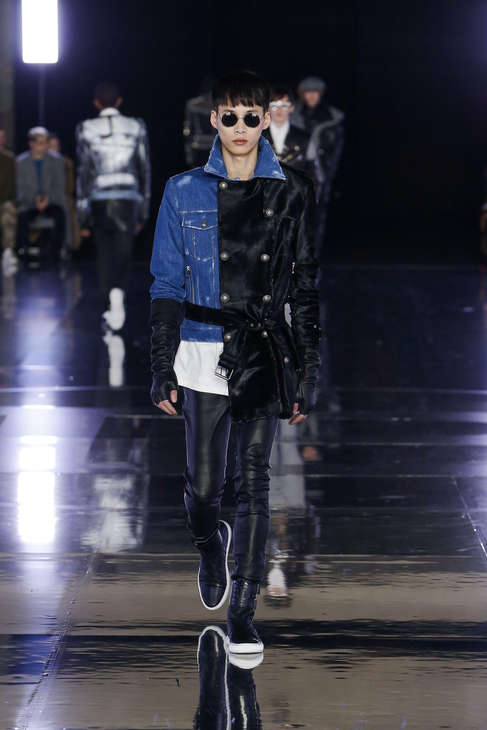 FW 2019 Balmain Show Paris Fashion Week