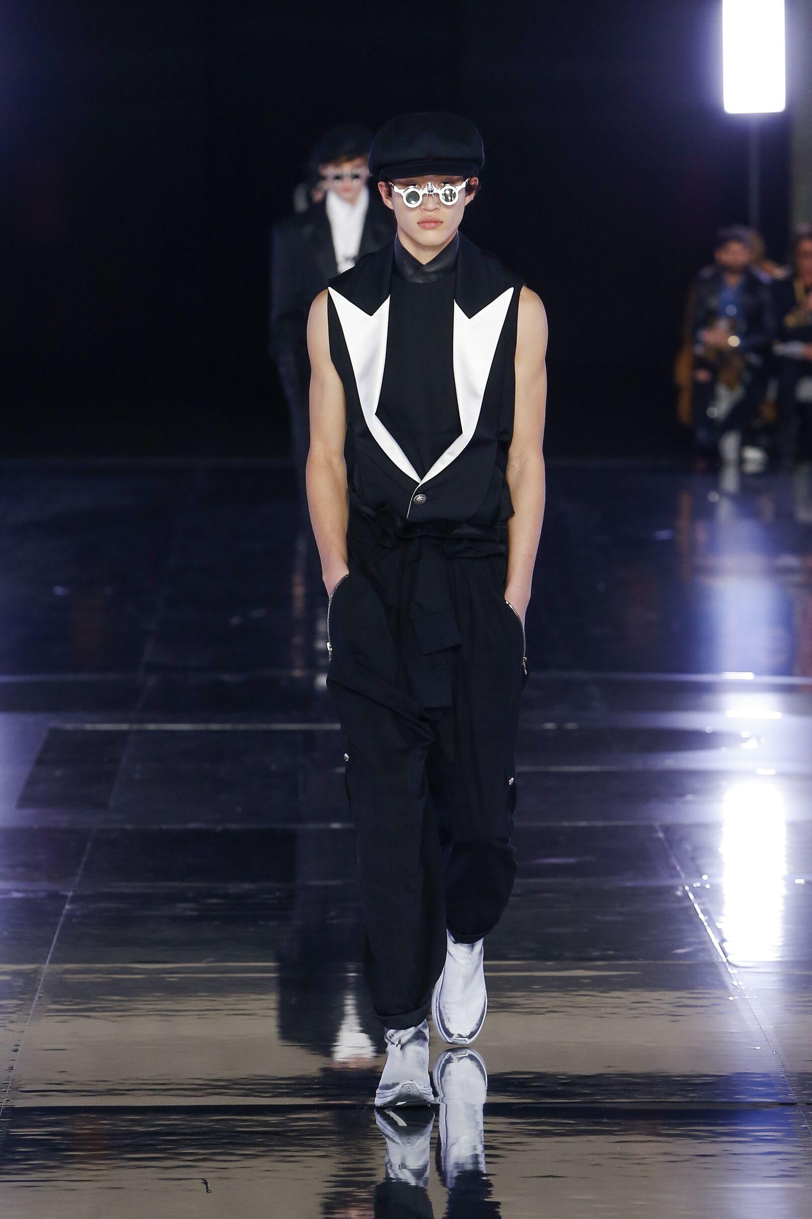 Fall 2019 Menswear Balmain