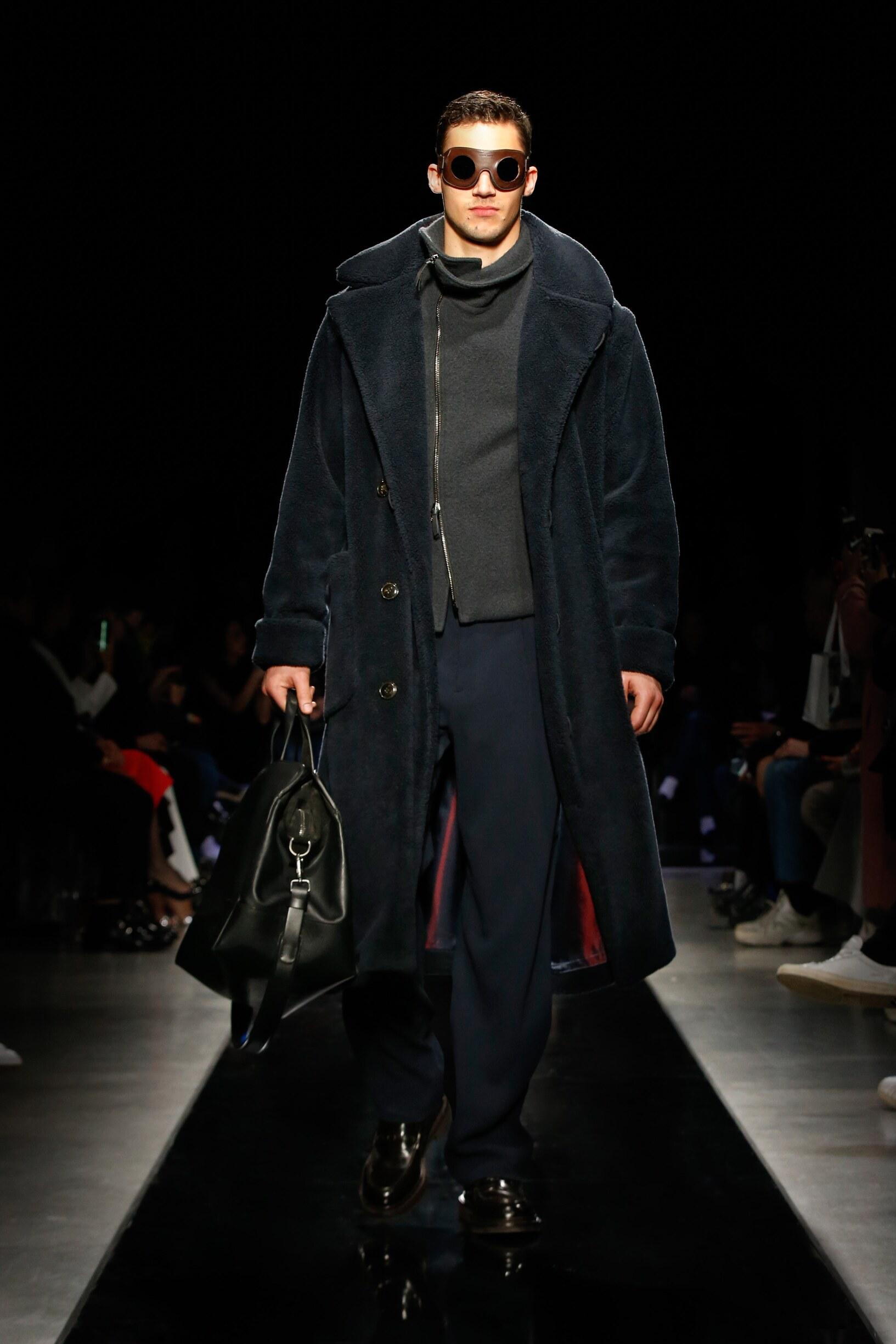 Fall 2019 Menswear Giorgio Armani