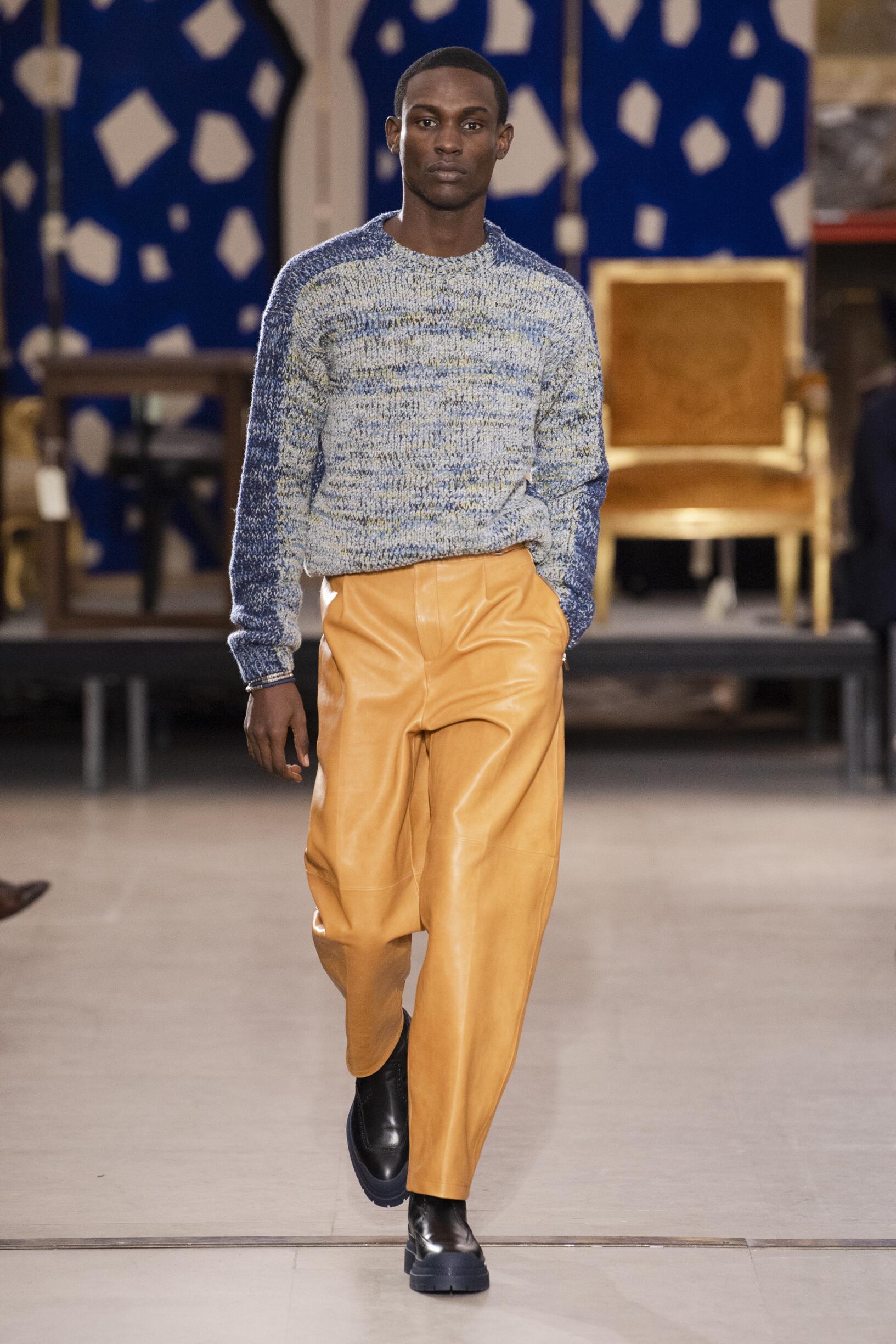 Fall 2019 Menswear Hermès
