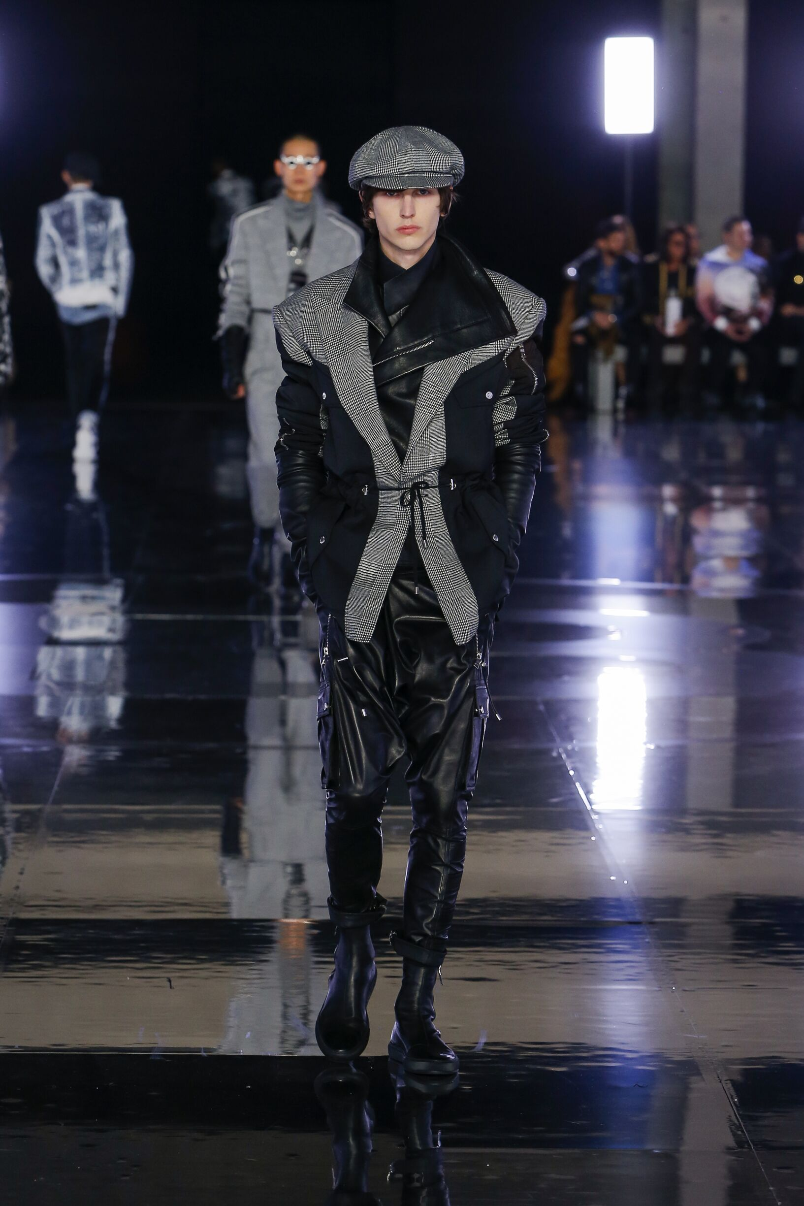 Fashion 2019 Catwalk Balmain Winter Mens Collection