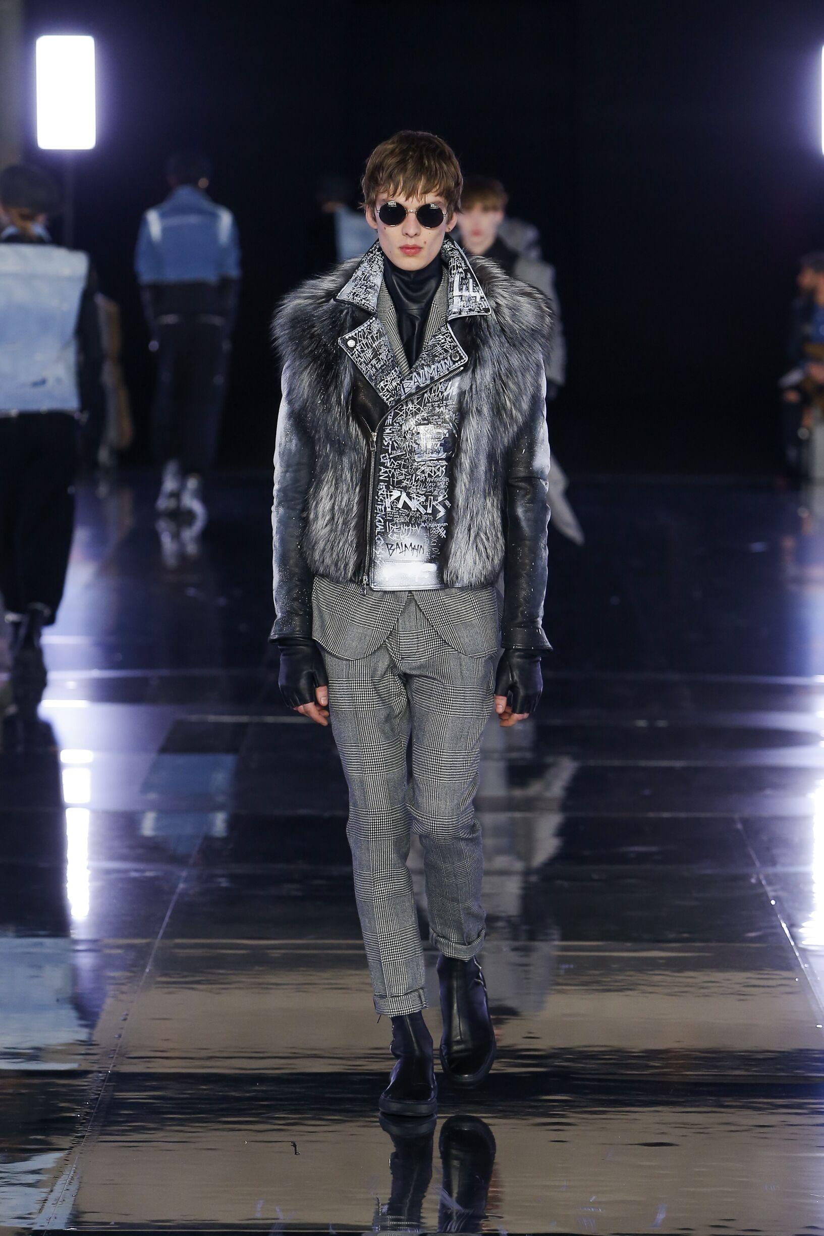 Fashion 2019 Men Style Balmain