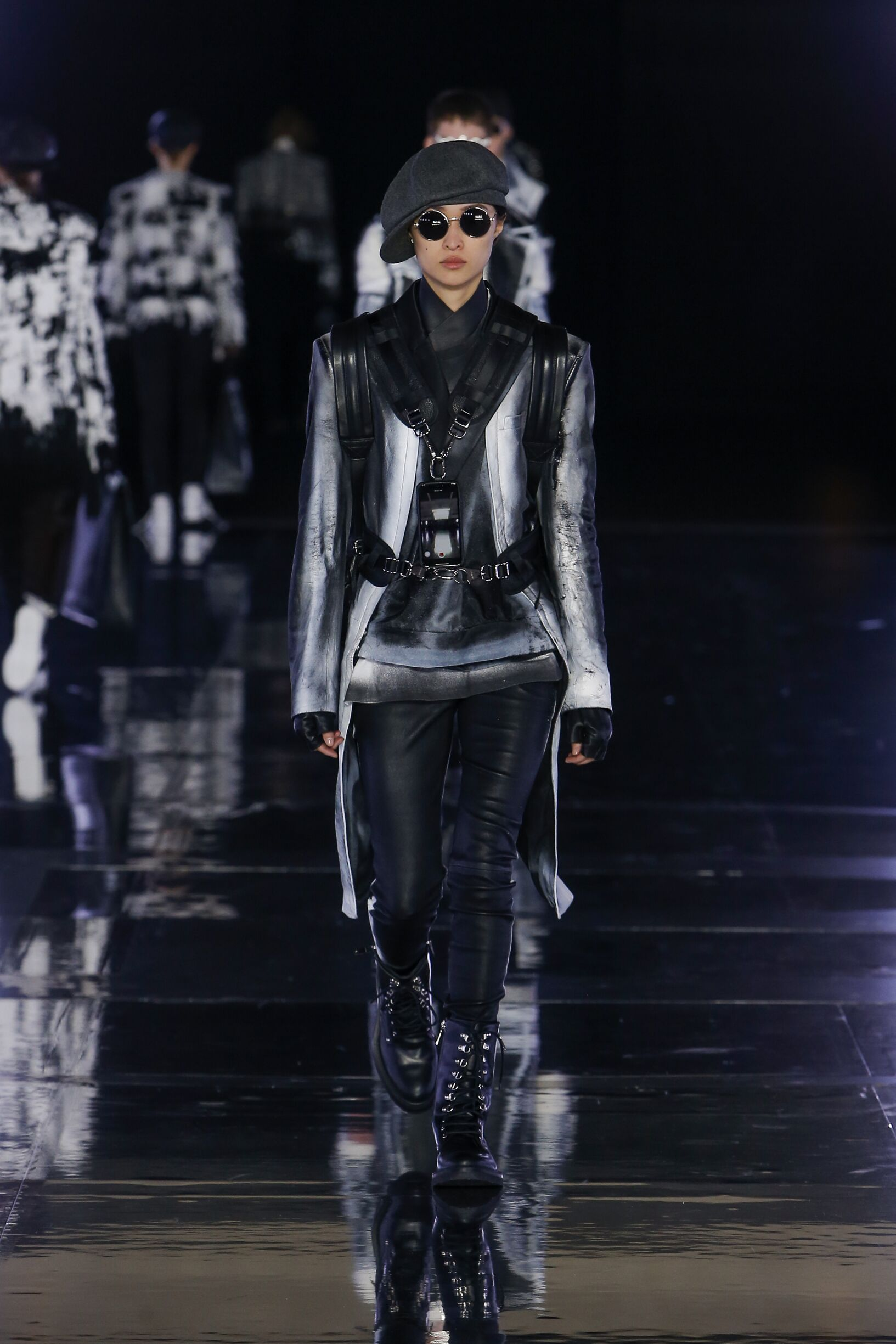 Fashion 2019 Runway Woman Balmain Winter