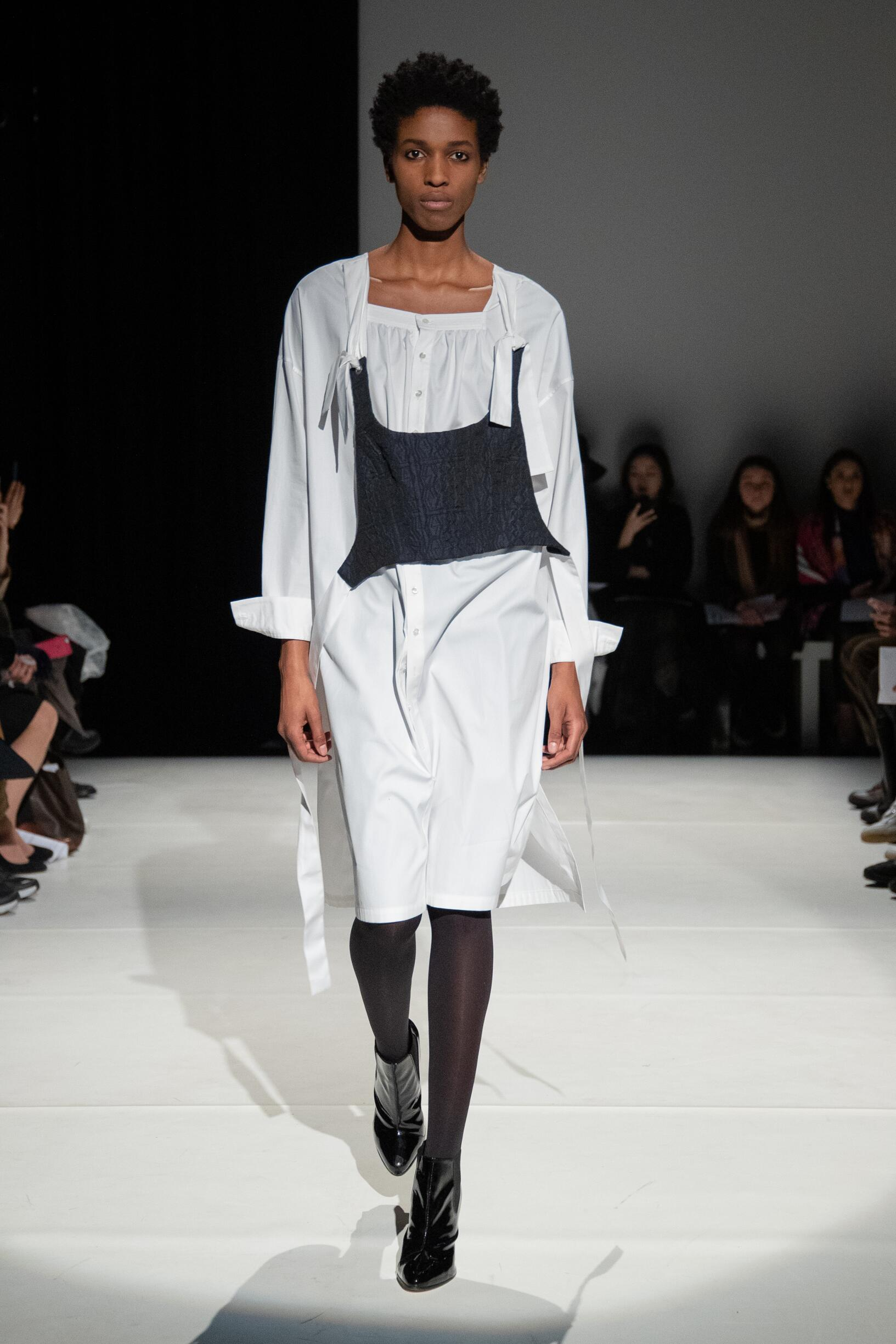 Fashion Model Chalayan Catwalk