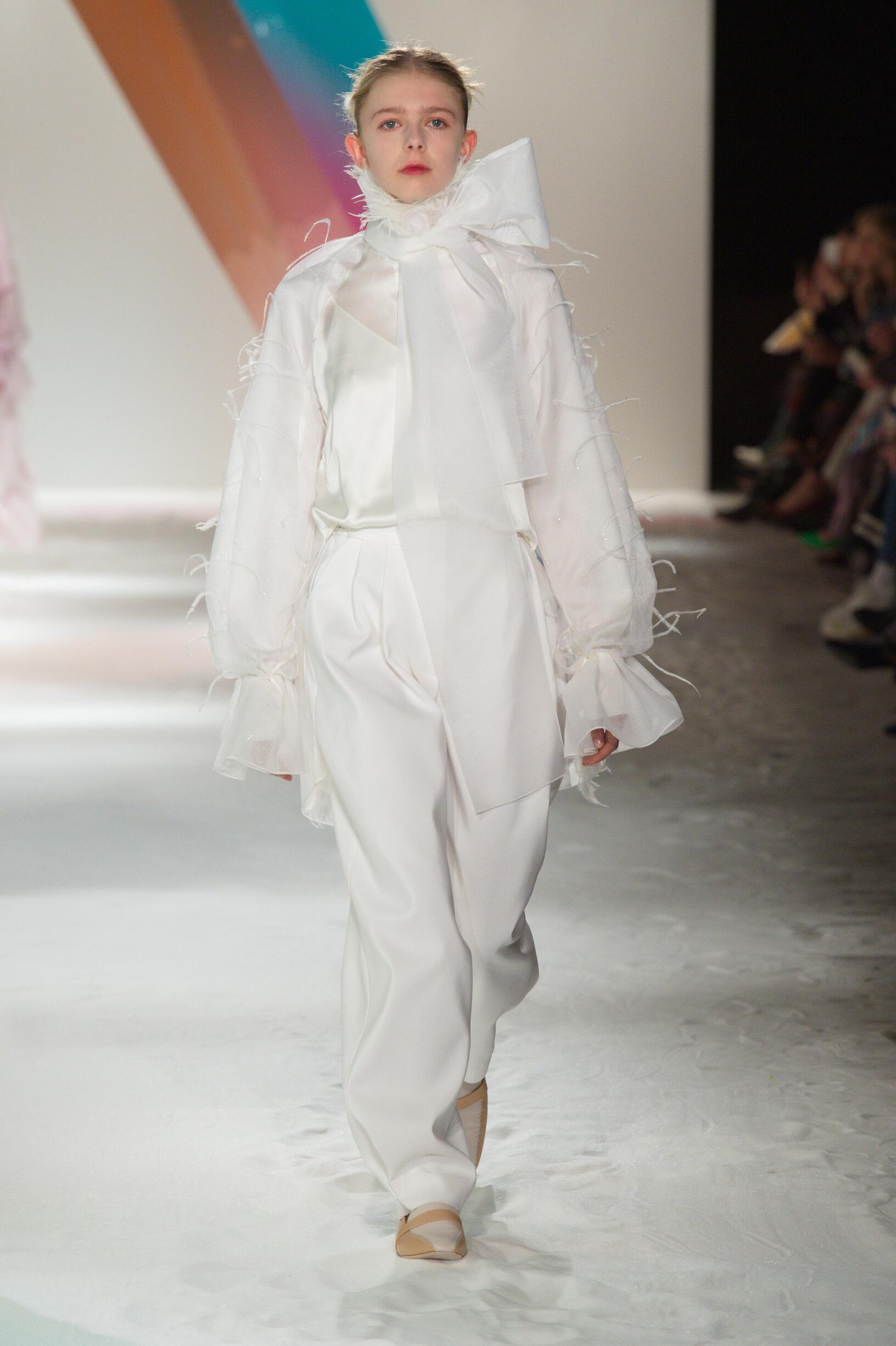 Fashion Model Roksanda Catwalk