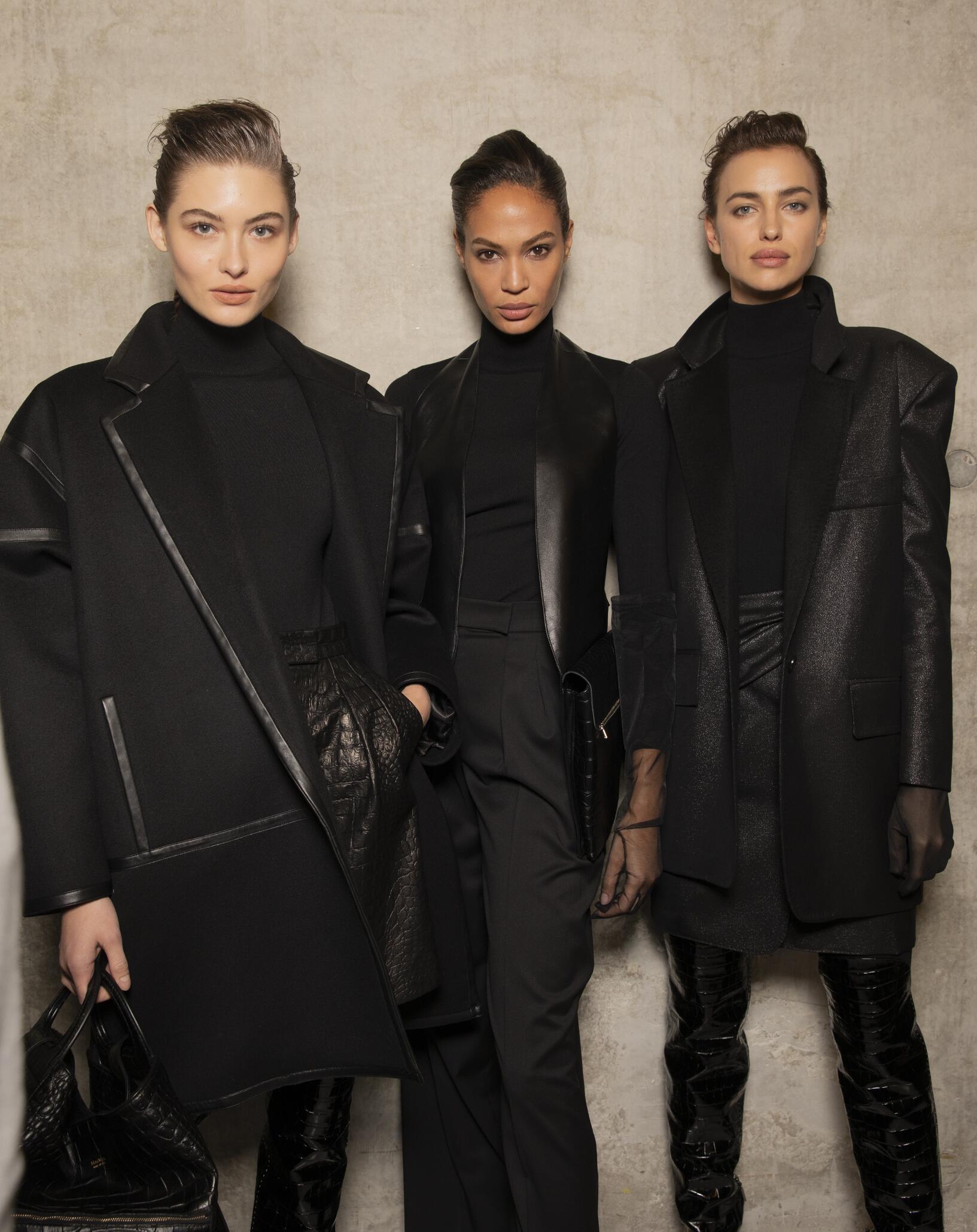 Fashion Models Backstage Max Mara