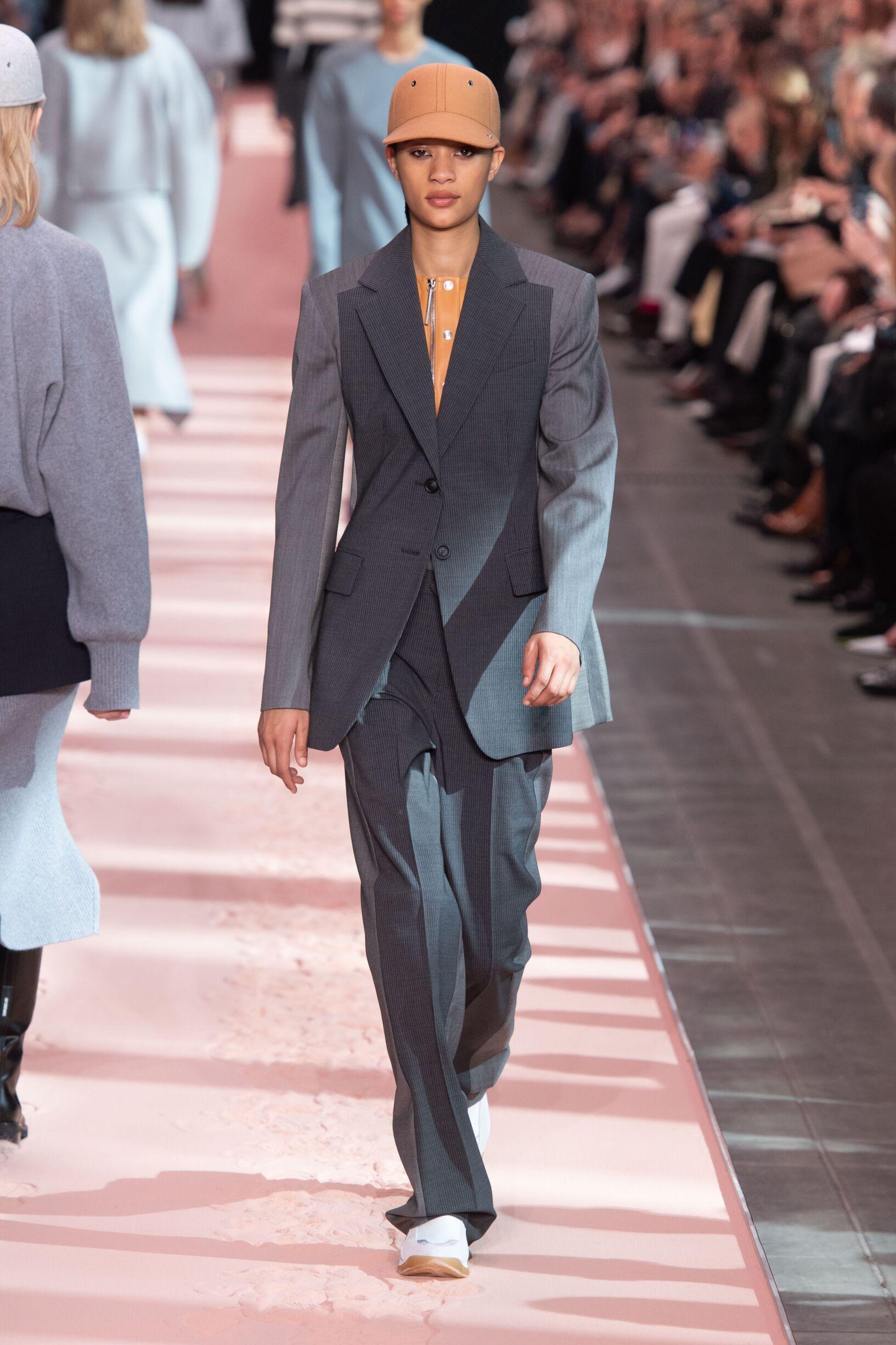 Fashion Show Woman Model Sportmax Catwalk