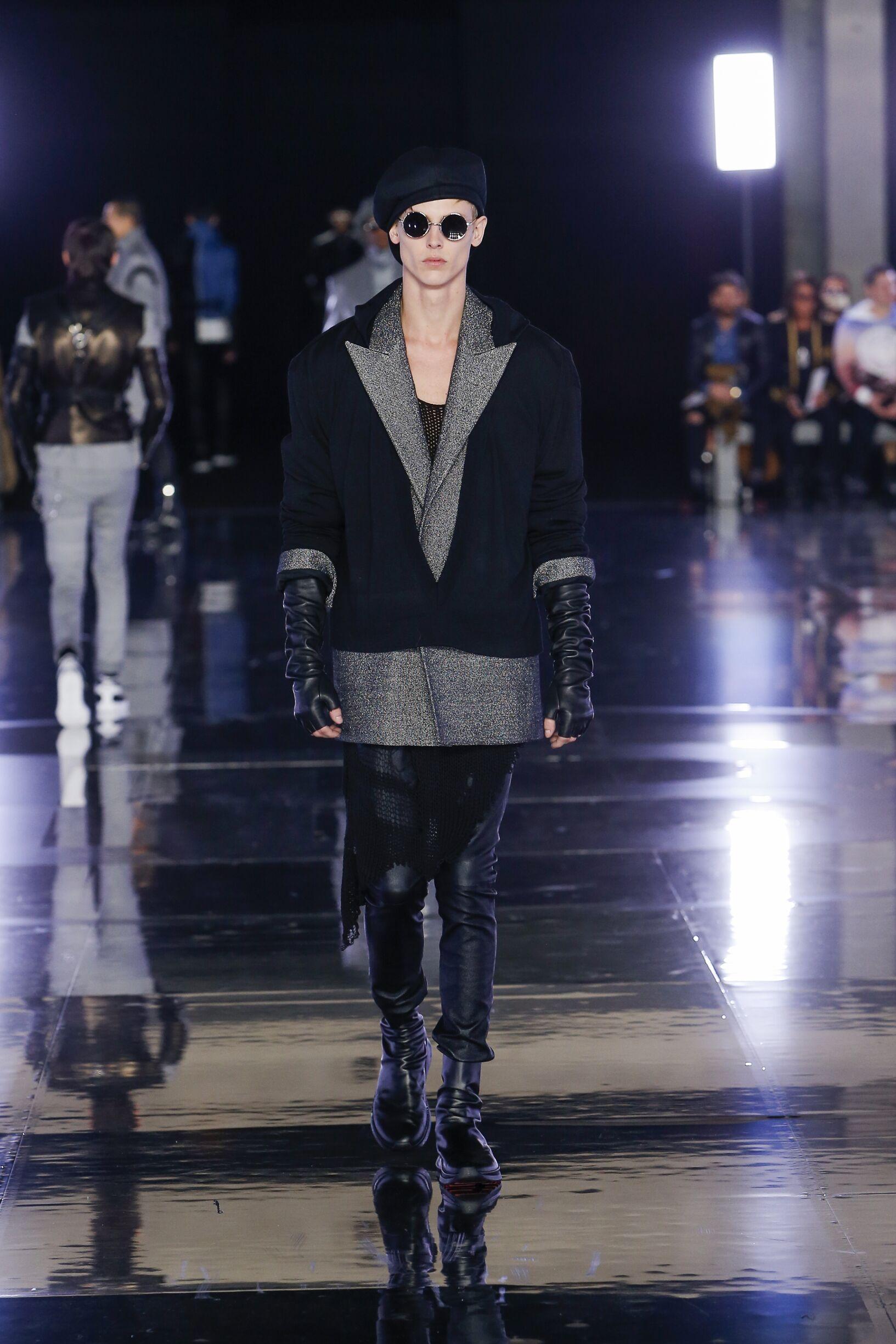 Fashion Trends 2019 Catwalk Balmain Winter Mens Collection