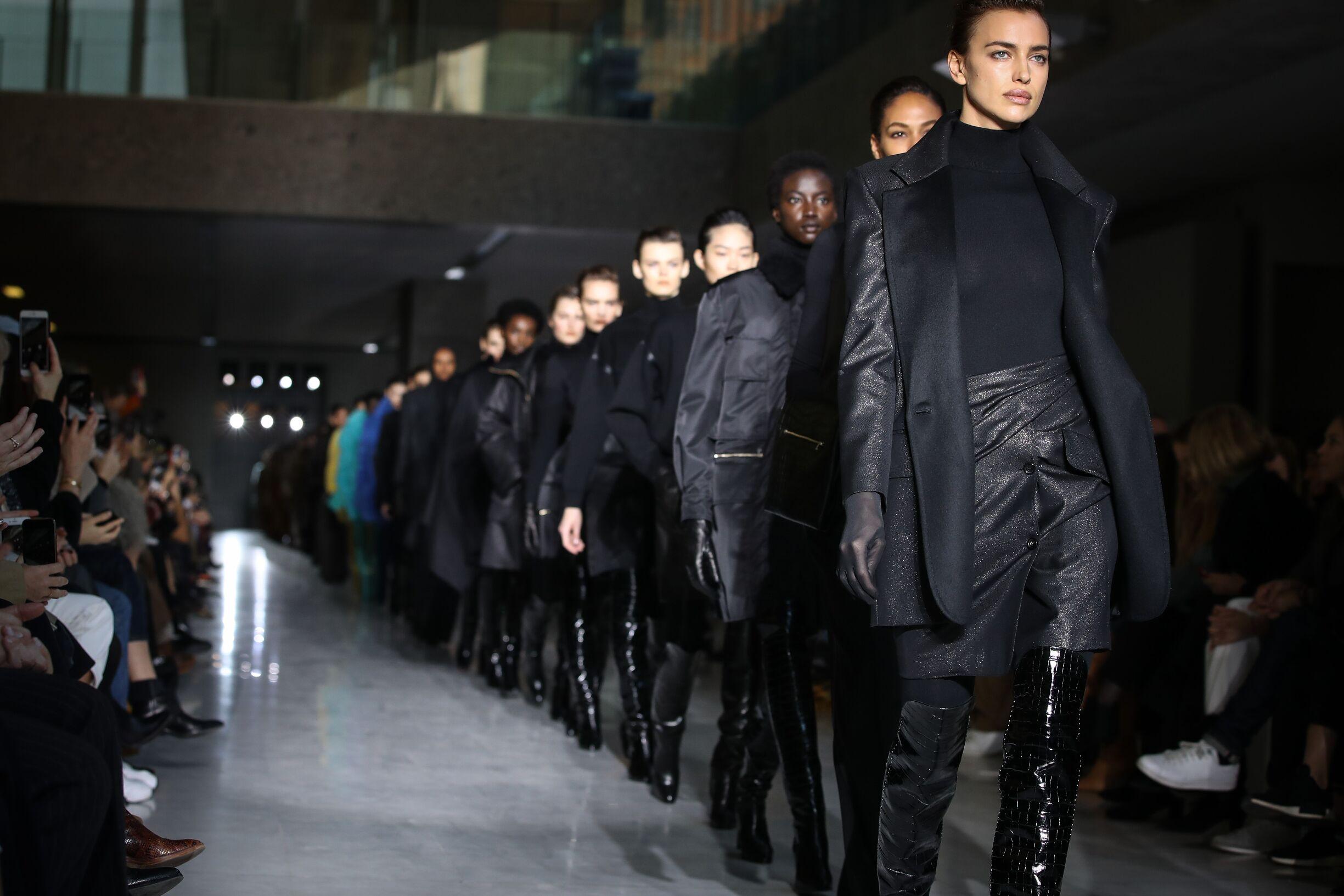 Finale Max Mara Fashion Show