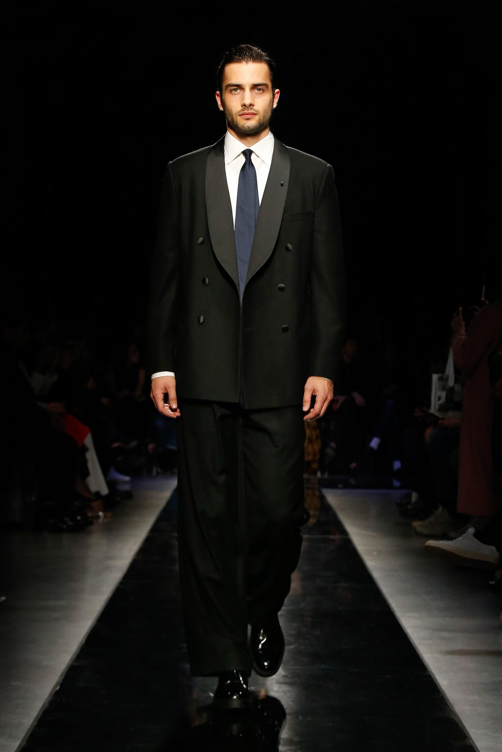Giorgio Armani Fall Winter 2019 Men's Collection Milan Fashion Week