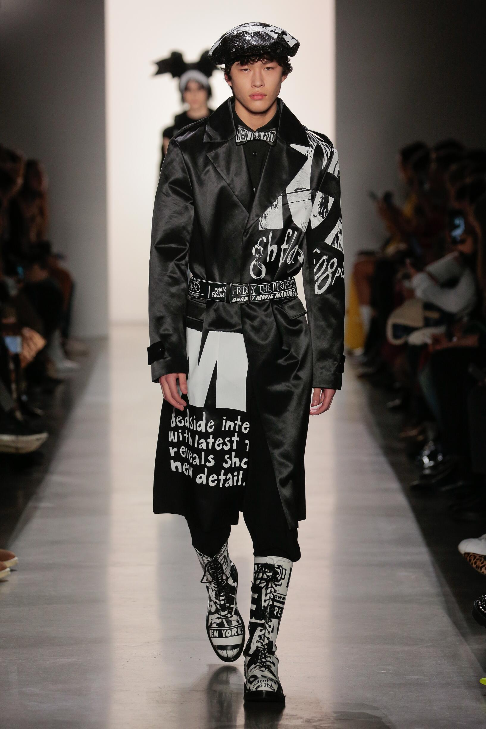 Jeremy Scott Menswear Fashion Show