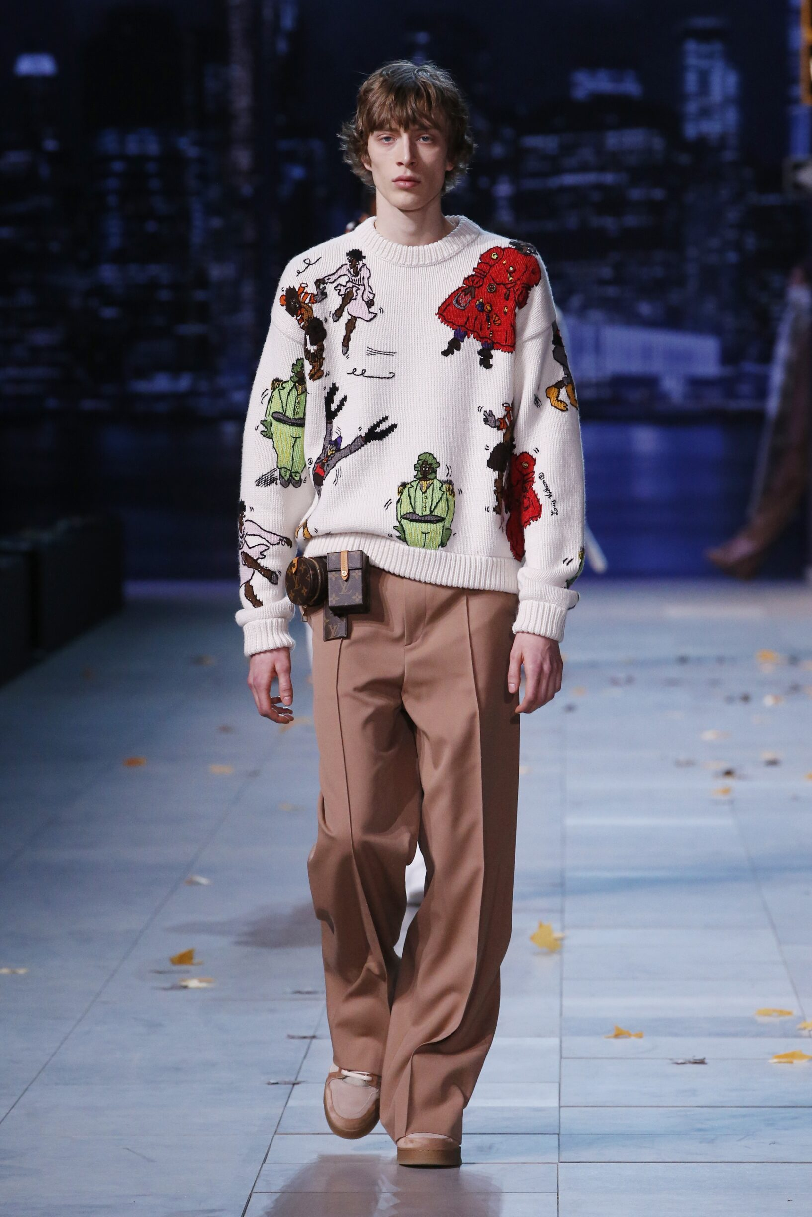 Louis Vuitton Paris Fashion Week Menswear