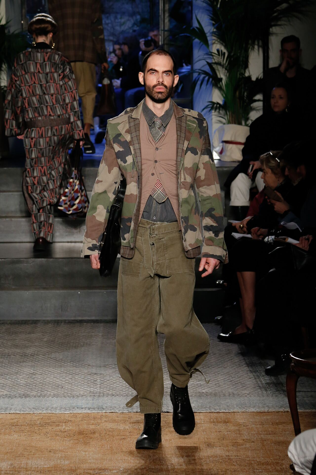 Man FW 2019 Antonio Marras Show Milan Fashion Week