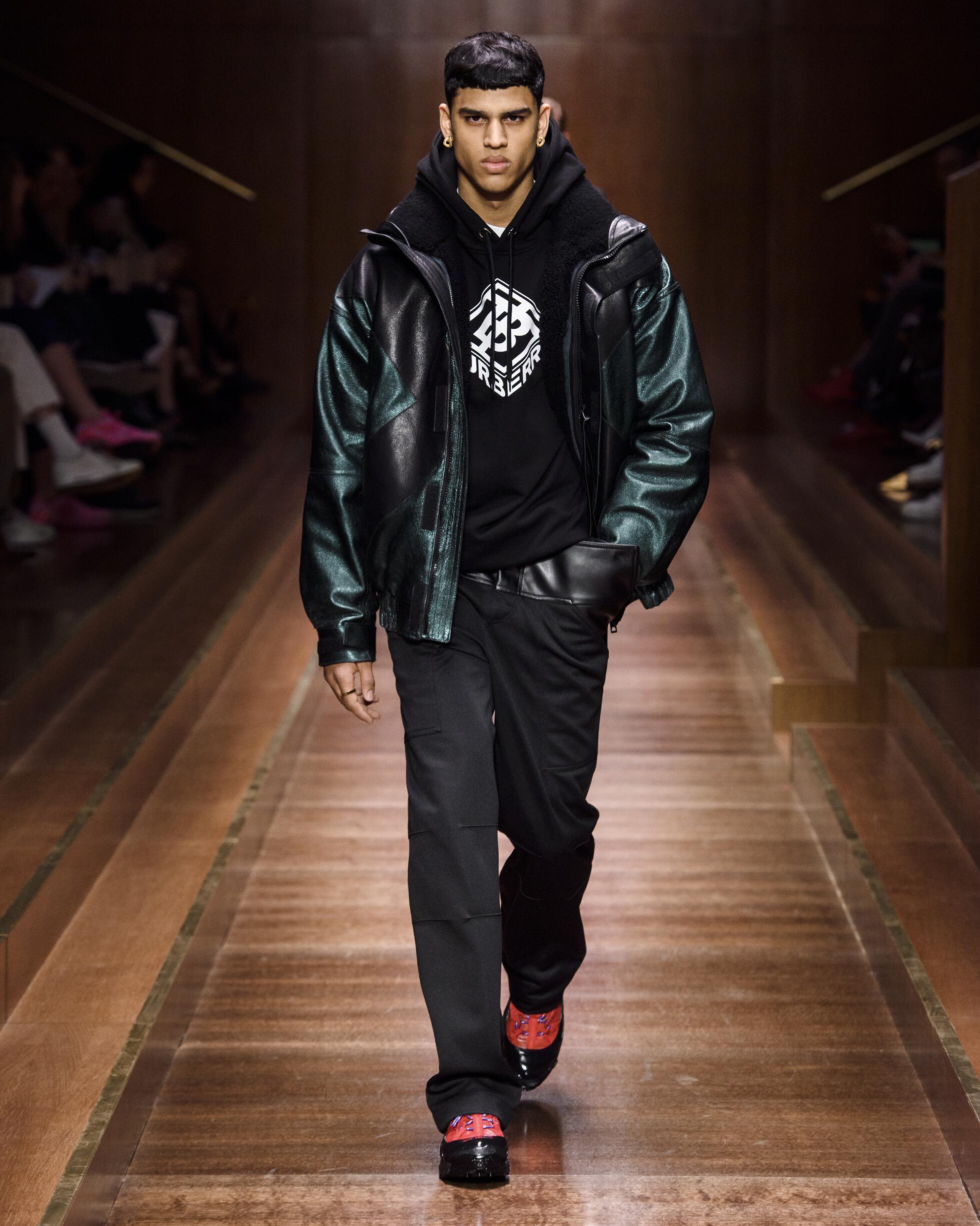 Man FW 2019 Burberry Show London Fashion Week