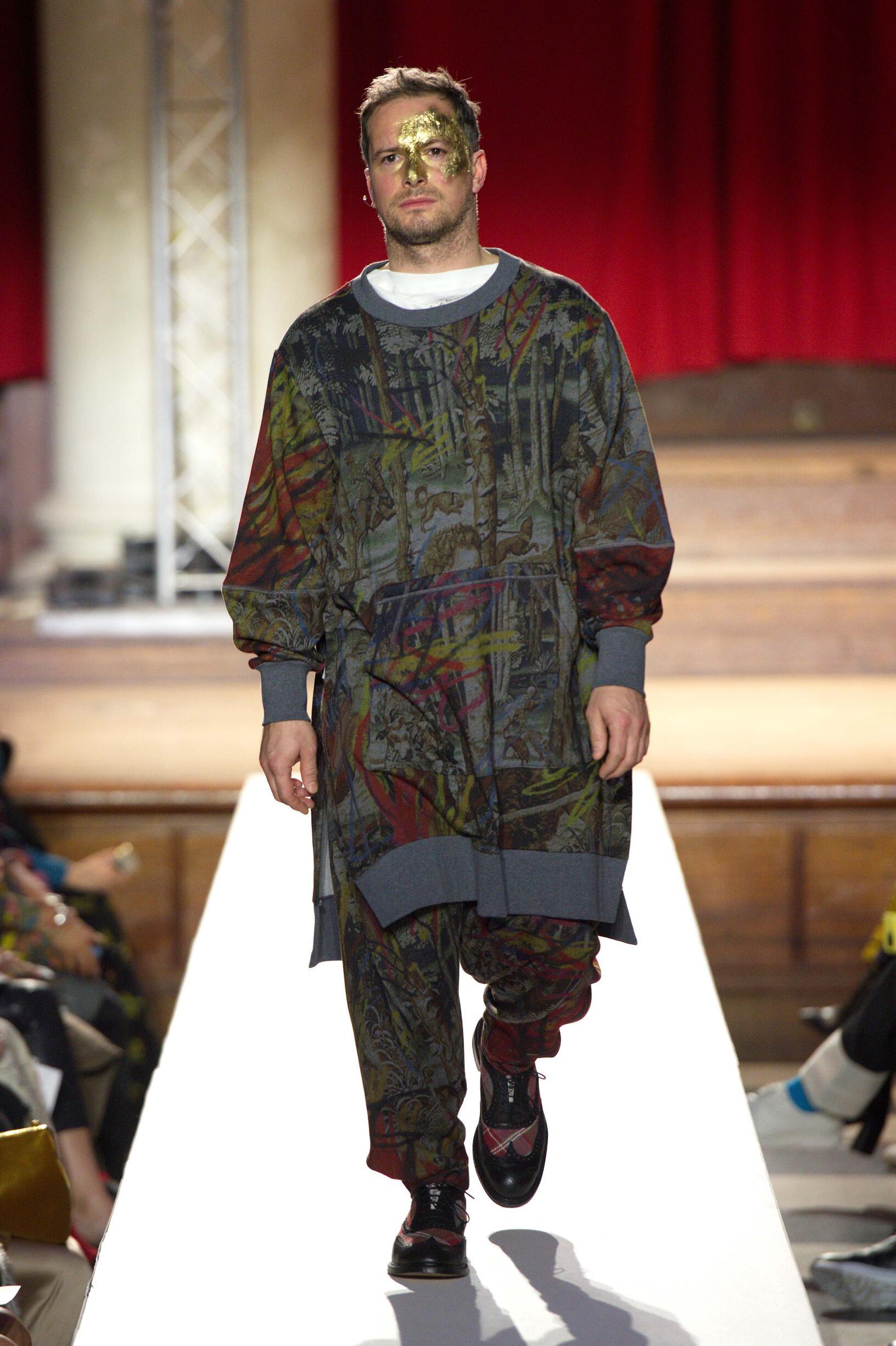 Man FW 2019 Vivienne Westwood Show London Fashion Week