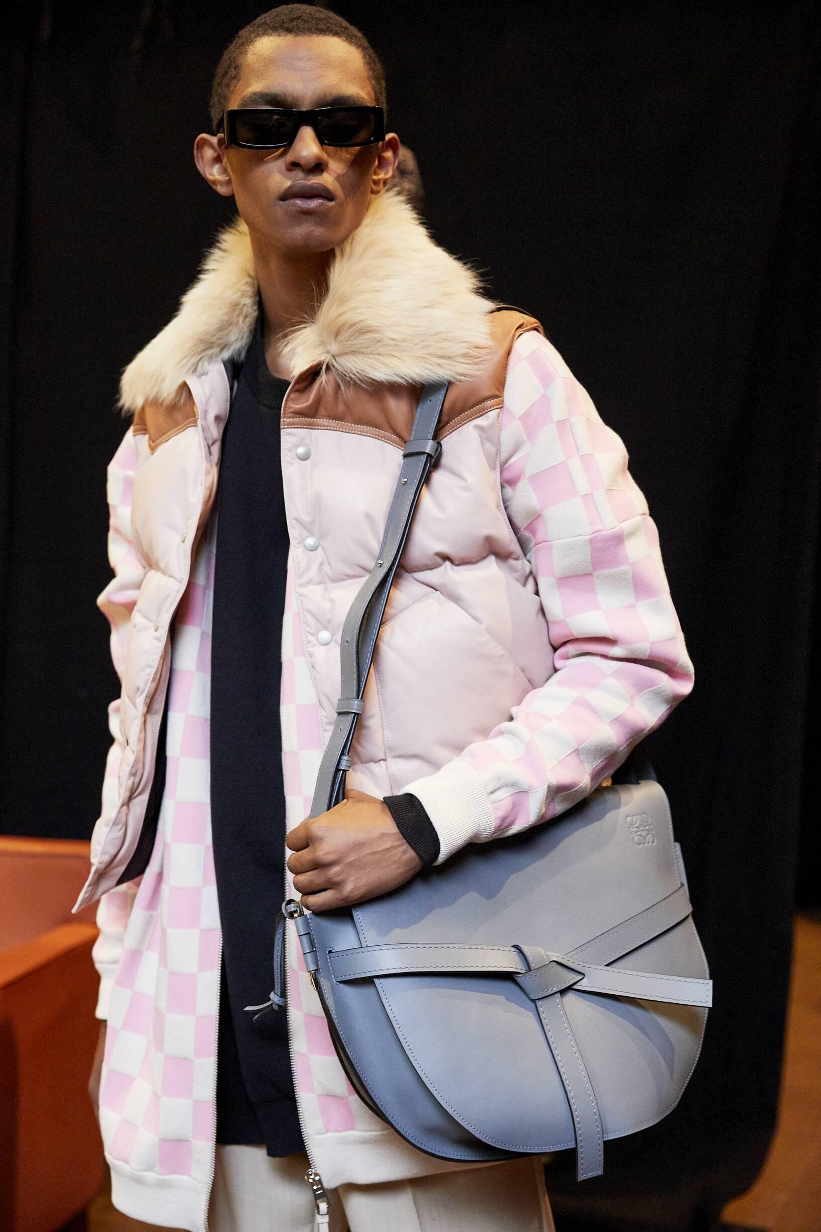 Man Model 2019 Backstage Loewe