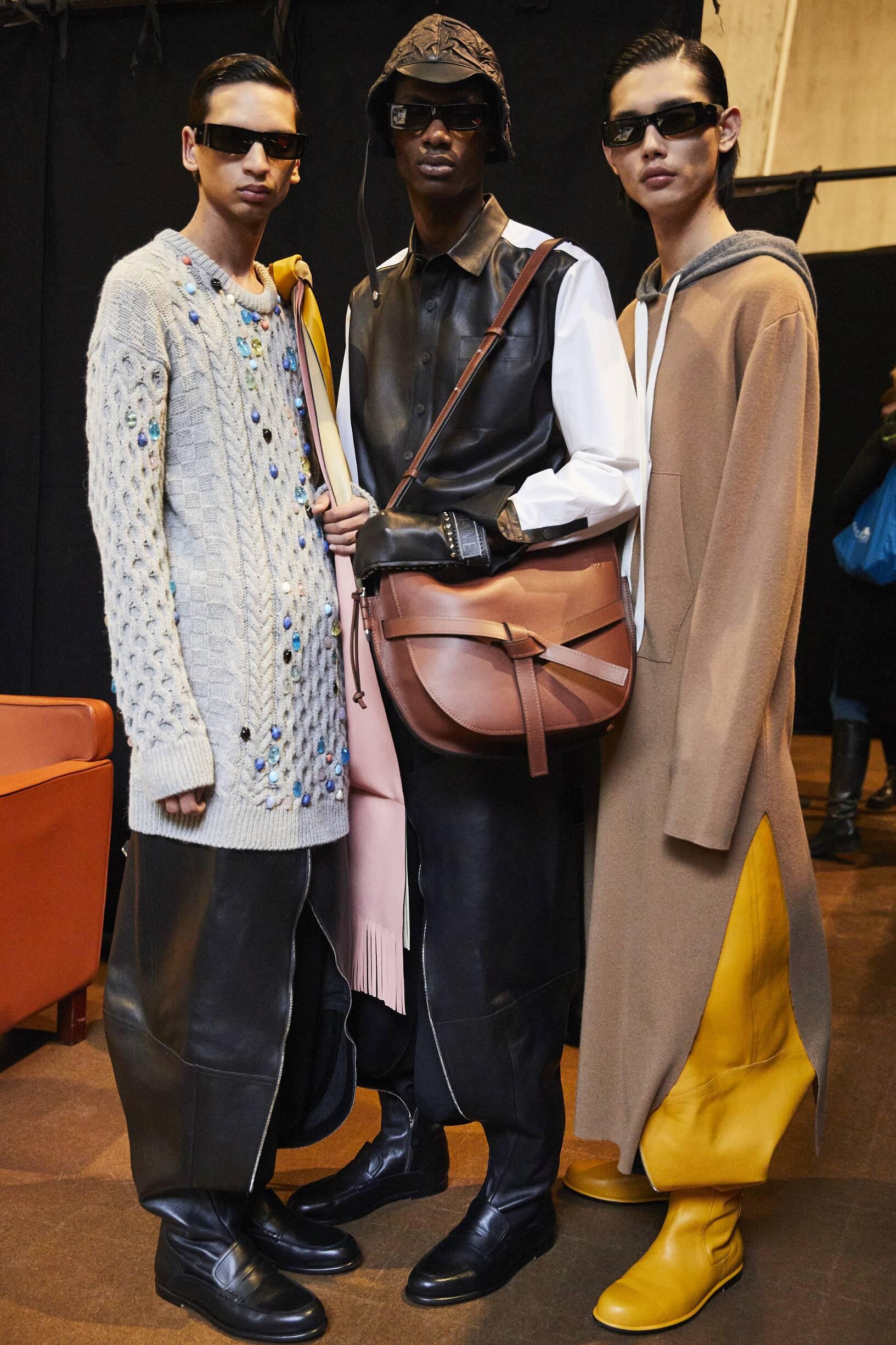 Men Models 2019 Backstage Loewe
