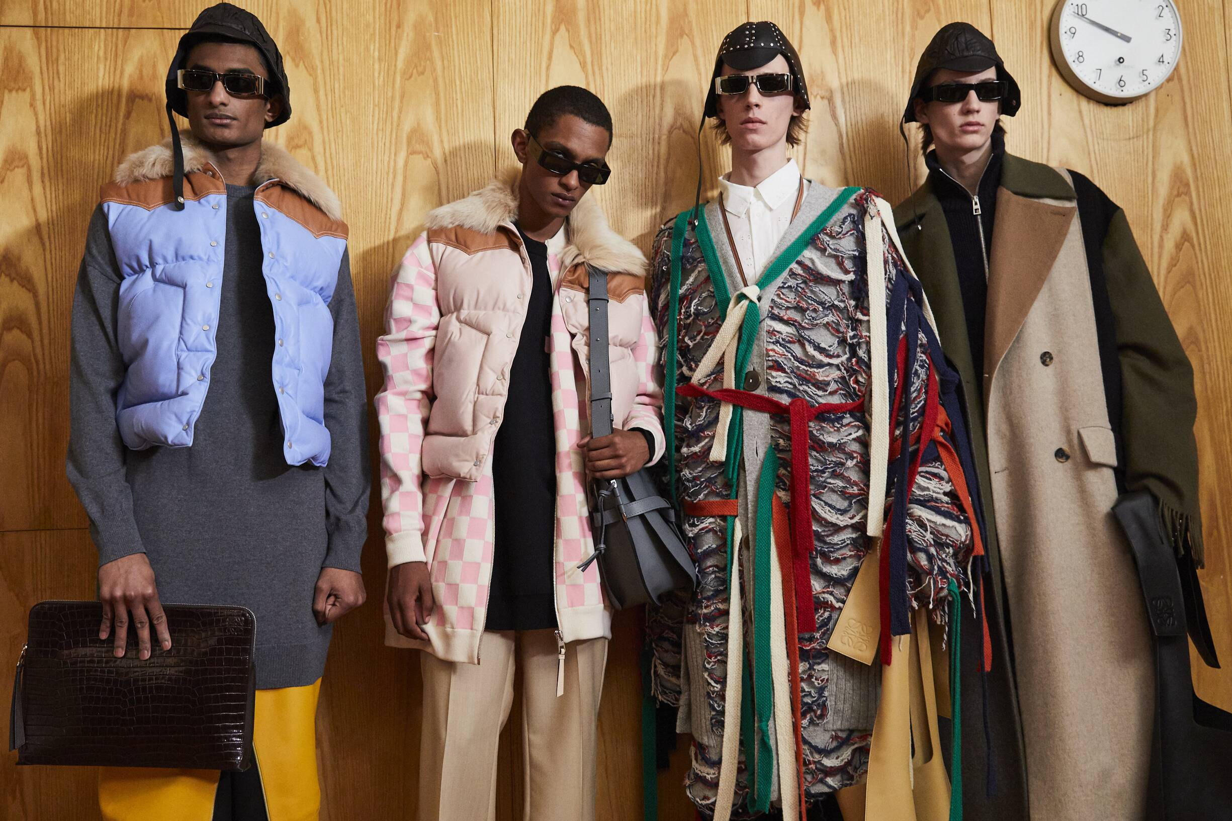 Men Models Fall 2019 Backstage Loewe