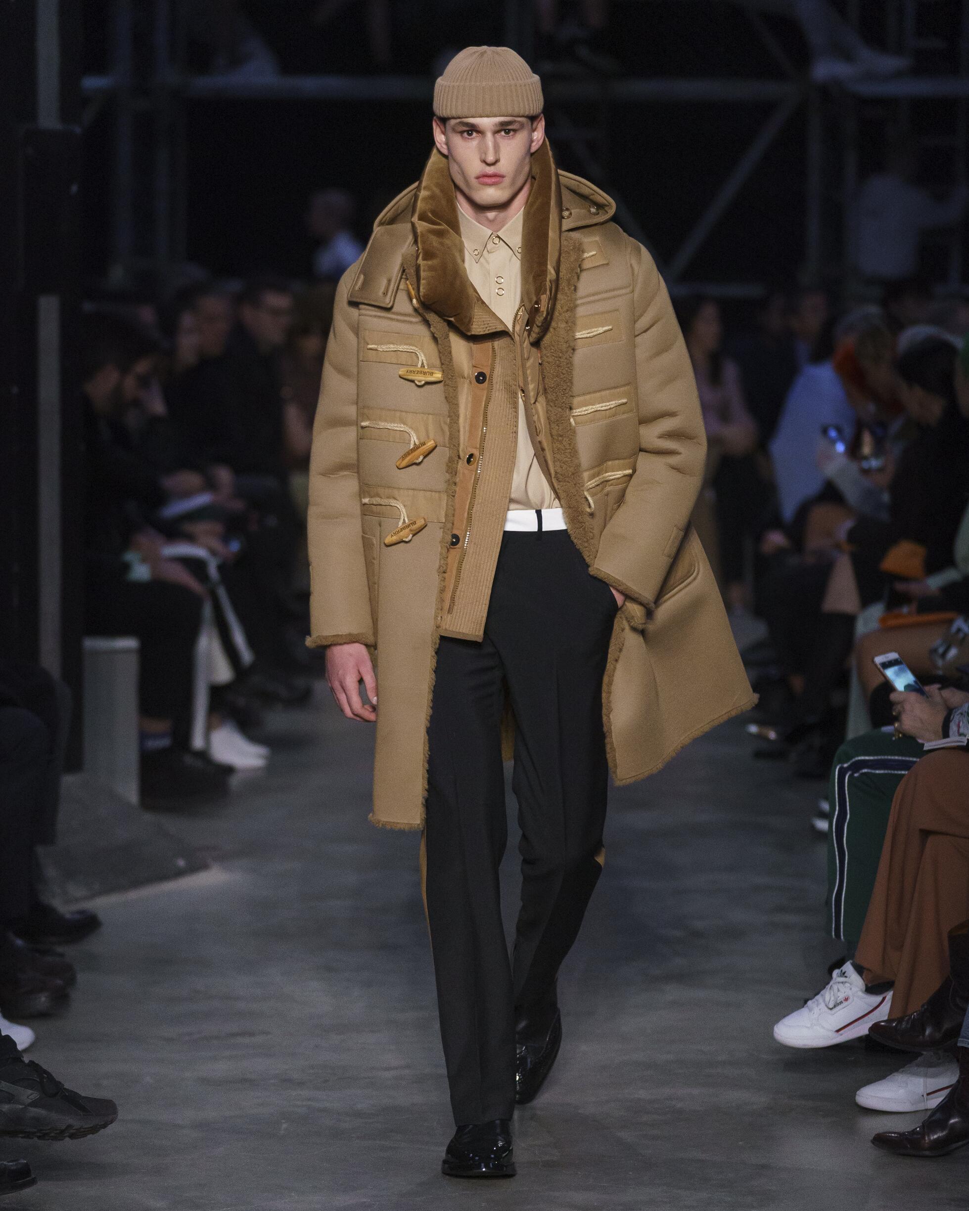 Menswear Fall Winter Burberry 2019 Trends