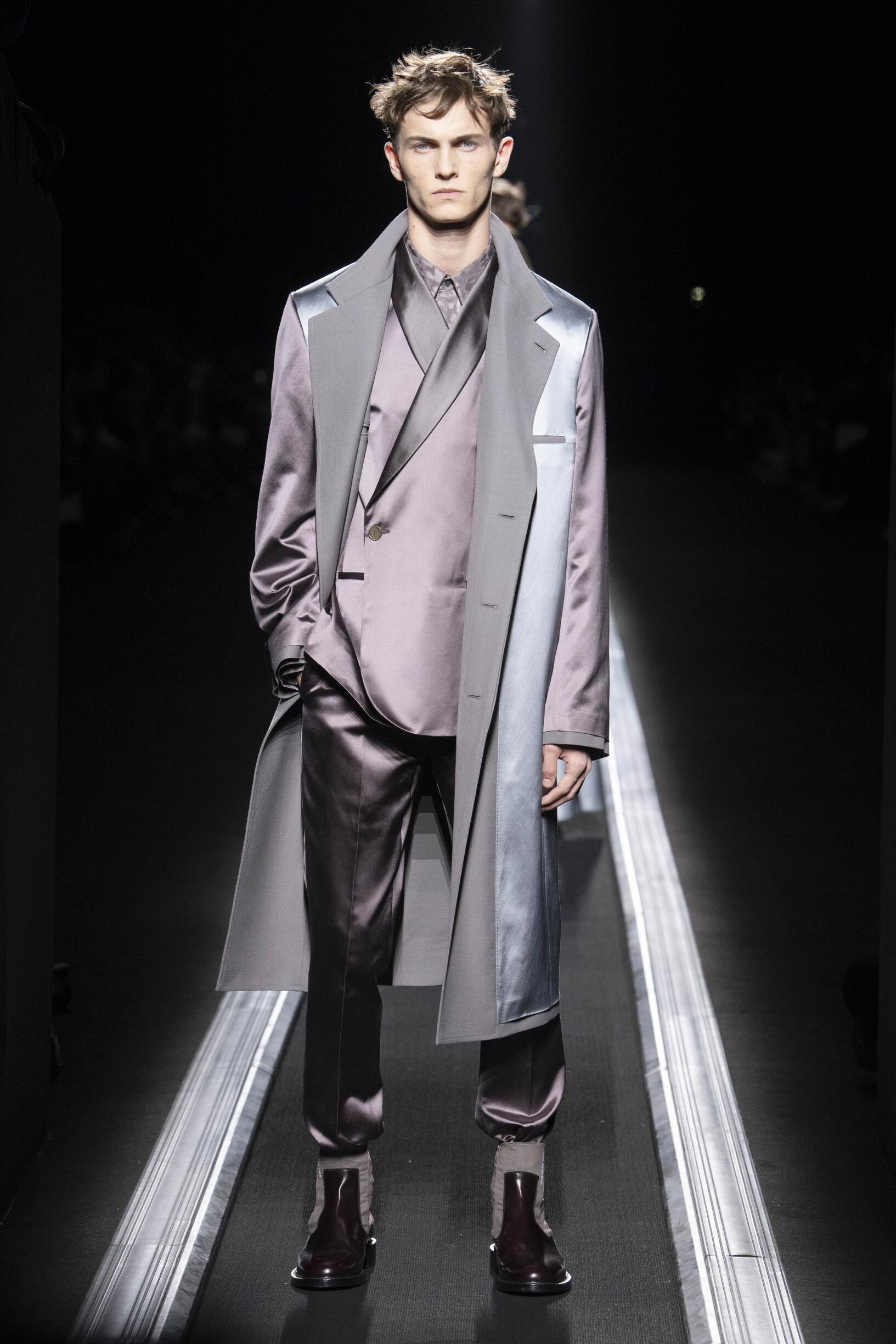 Menswear Winter Dior 2019