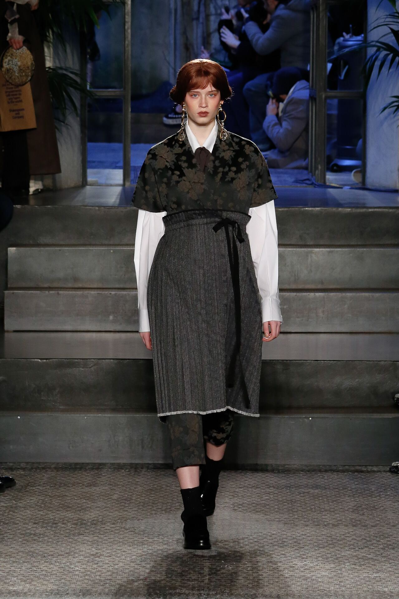 Model Fashion Show Antonio Marras