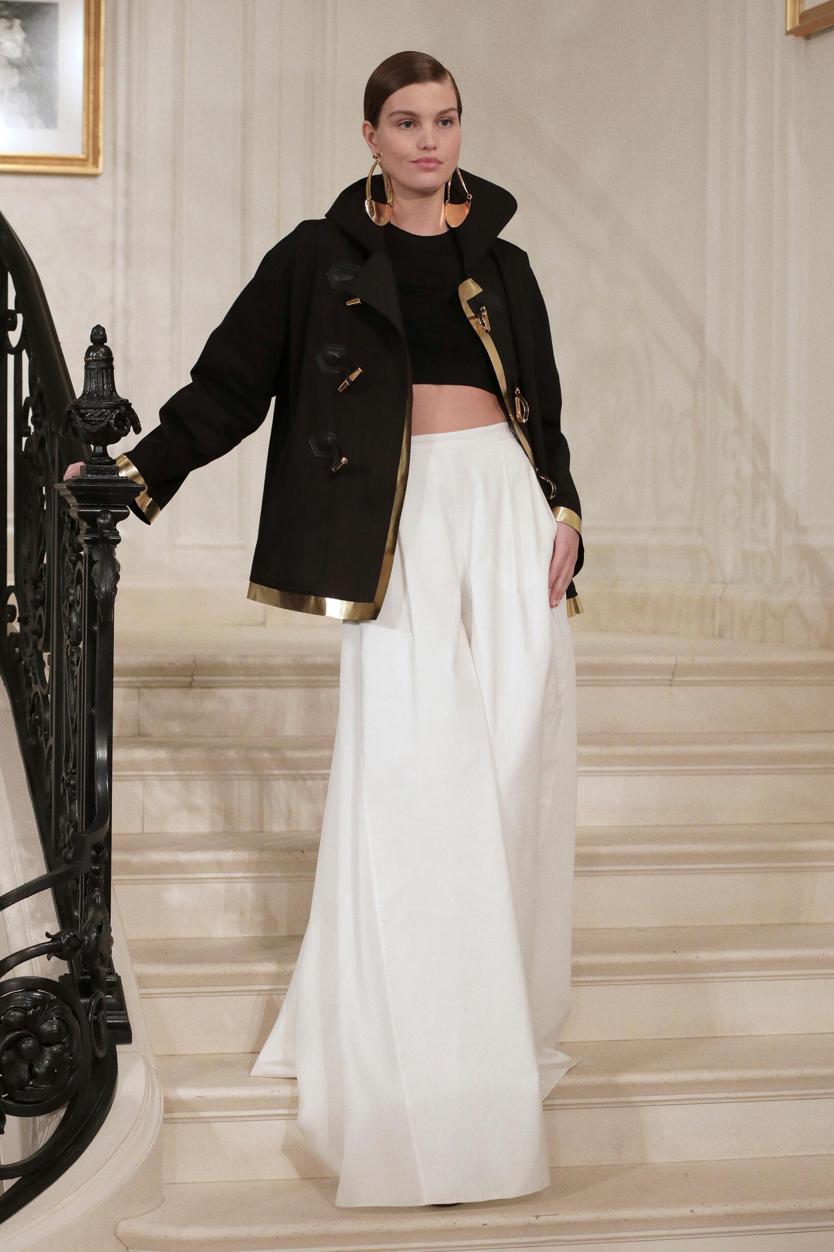 Model Fashion Show Ralph Lauren