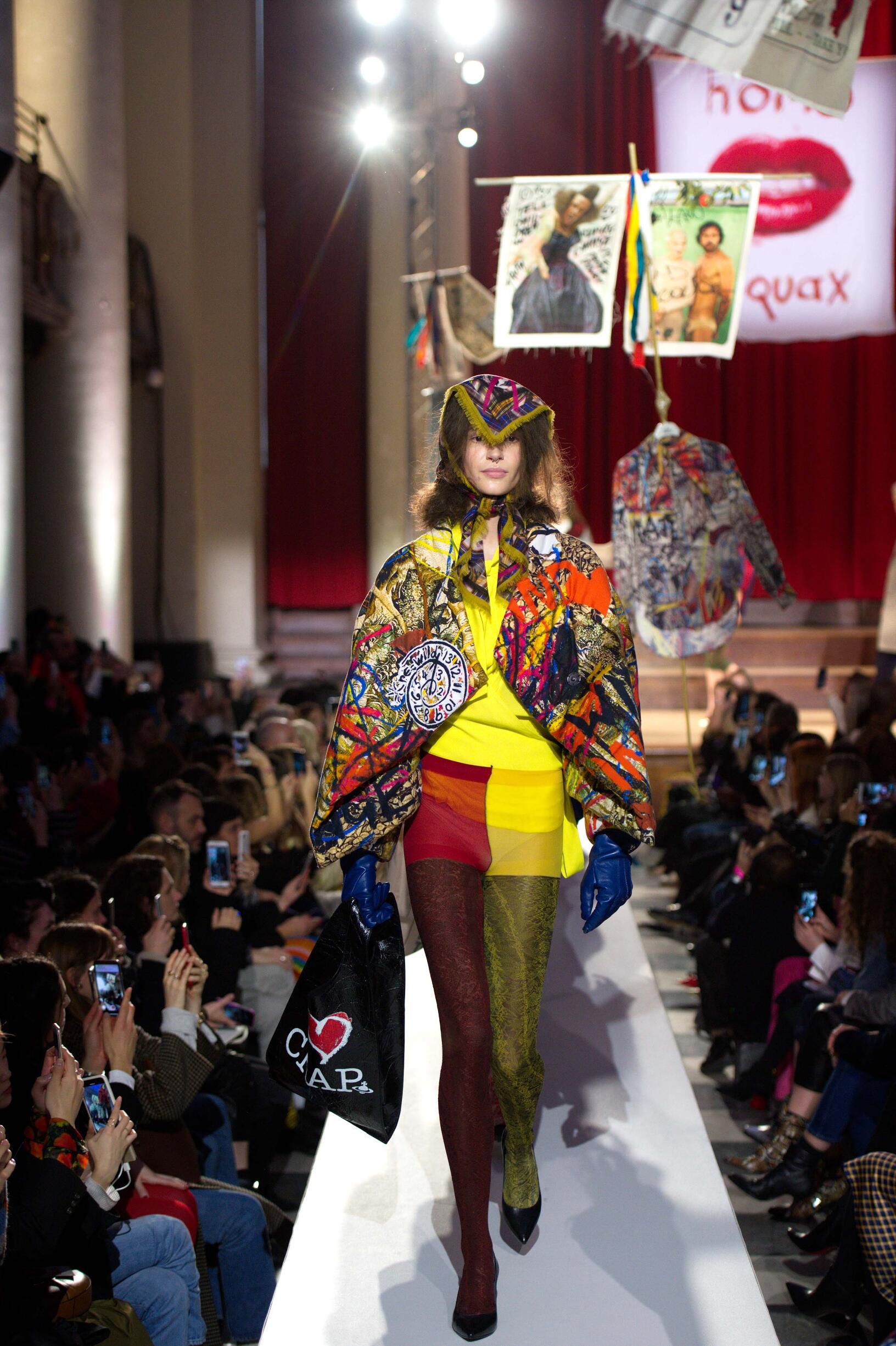 Model Fashion Week 2019 Catwalk Vivienne Westwood