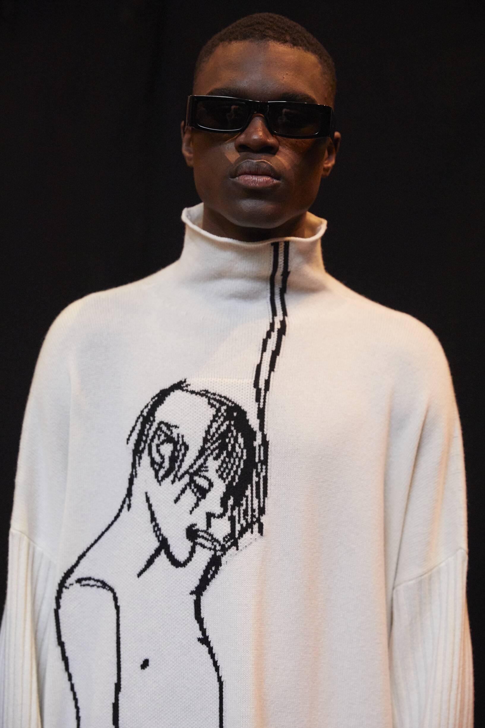 Model Menswear 2019 Backstage Loewe