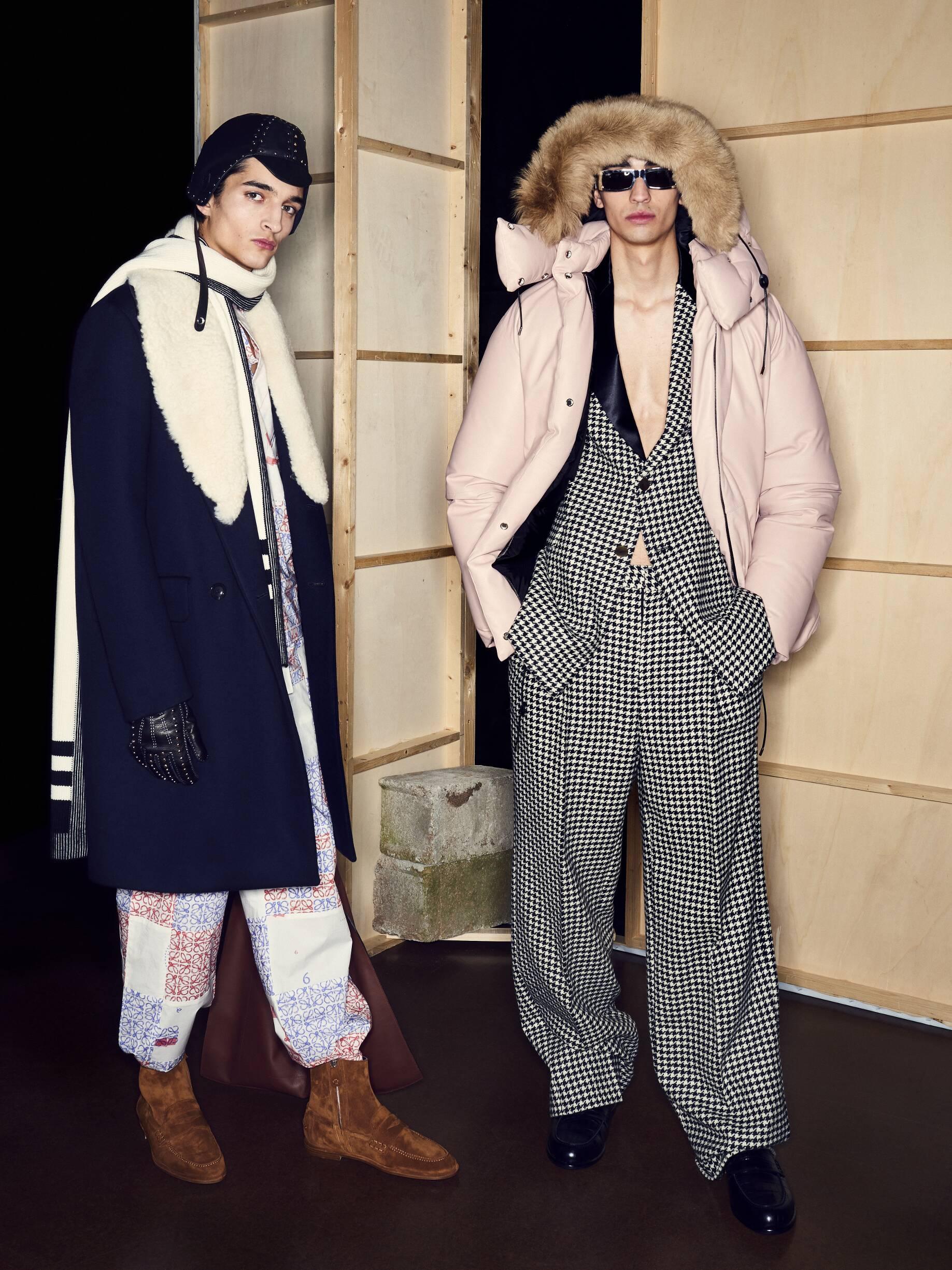 Models 2019 Backstage Loewe