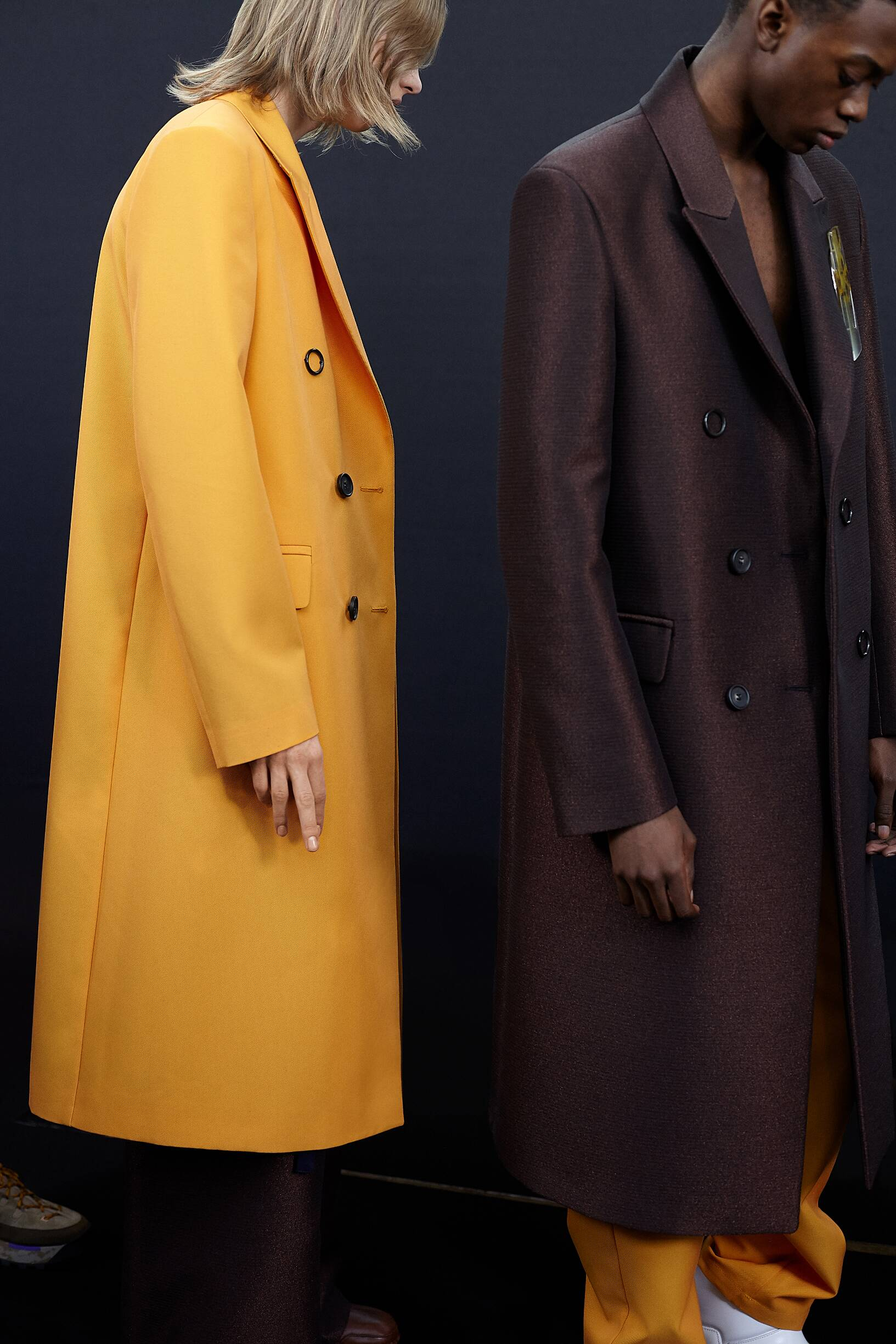 Models 2019 Fashion Backstage Acne Studios