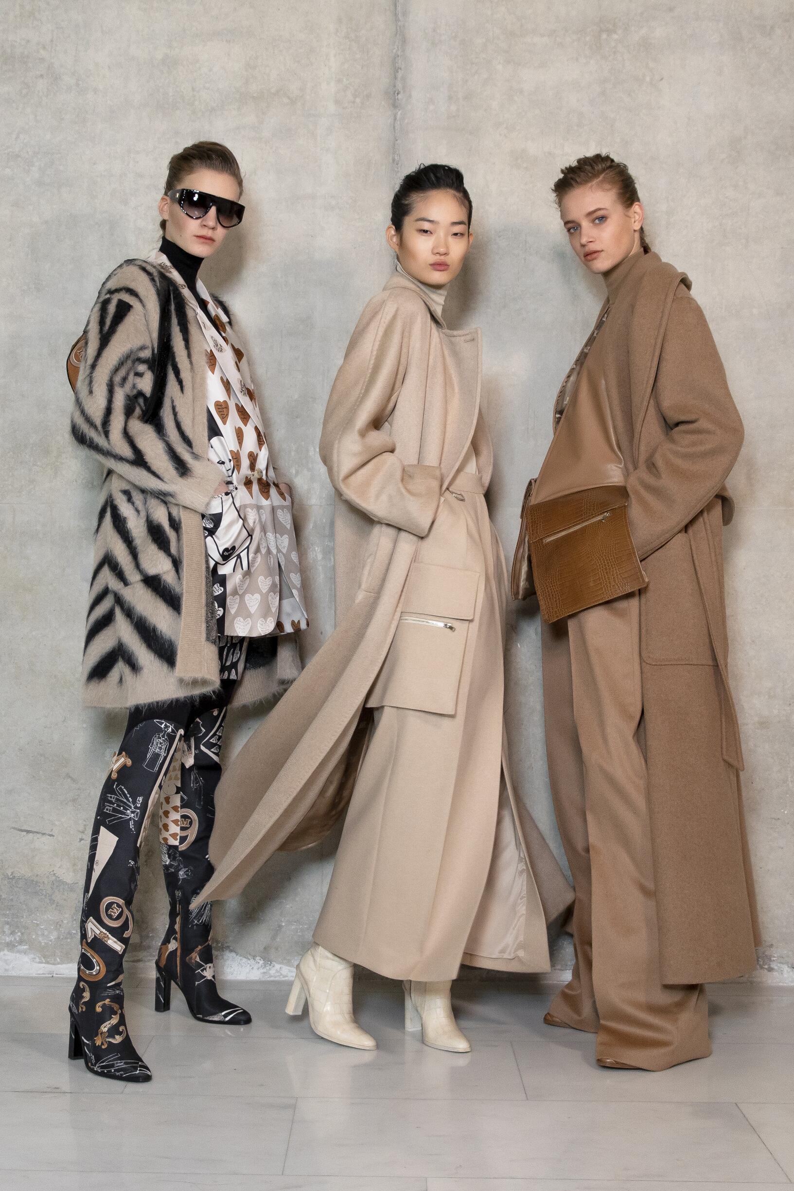 Models 2019 Fashion Backstage Max Mara