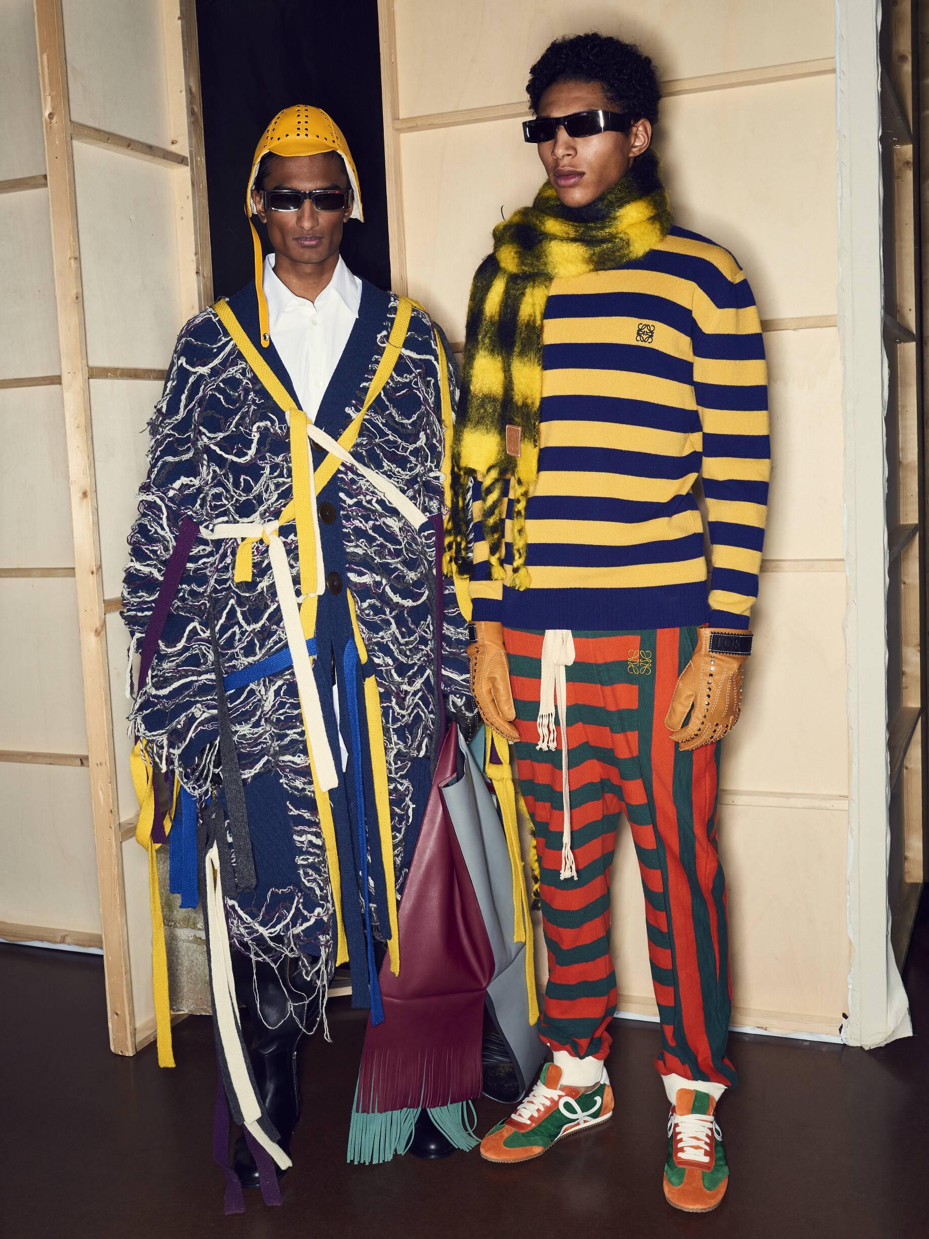 Models Backstage Loewe