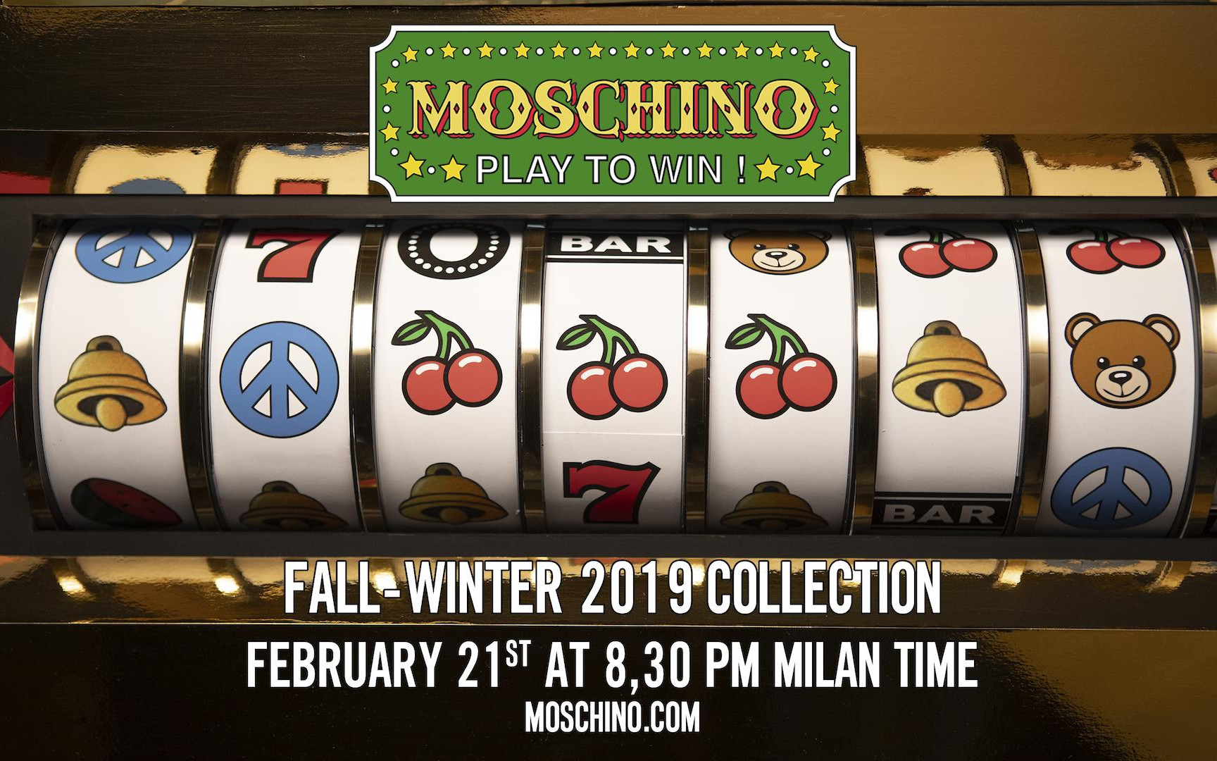 Moschino Fall Winter 2019-20 Women's Fashion Show Live Streaming Milan