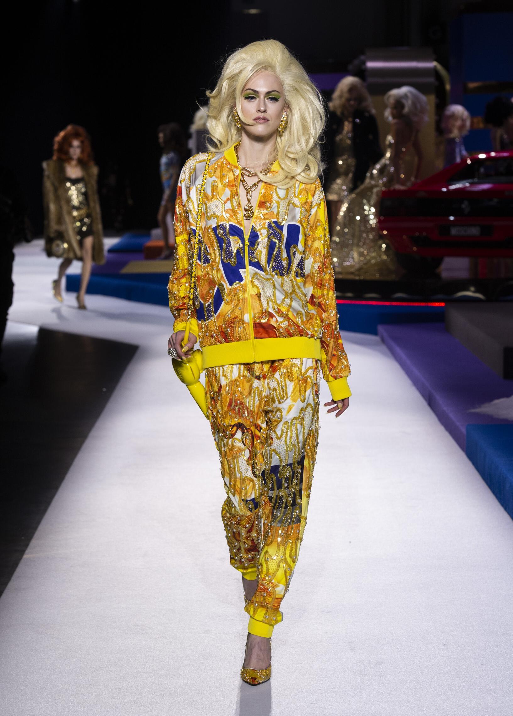 Moschino Milan Fashion Week Womenswear Trends