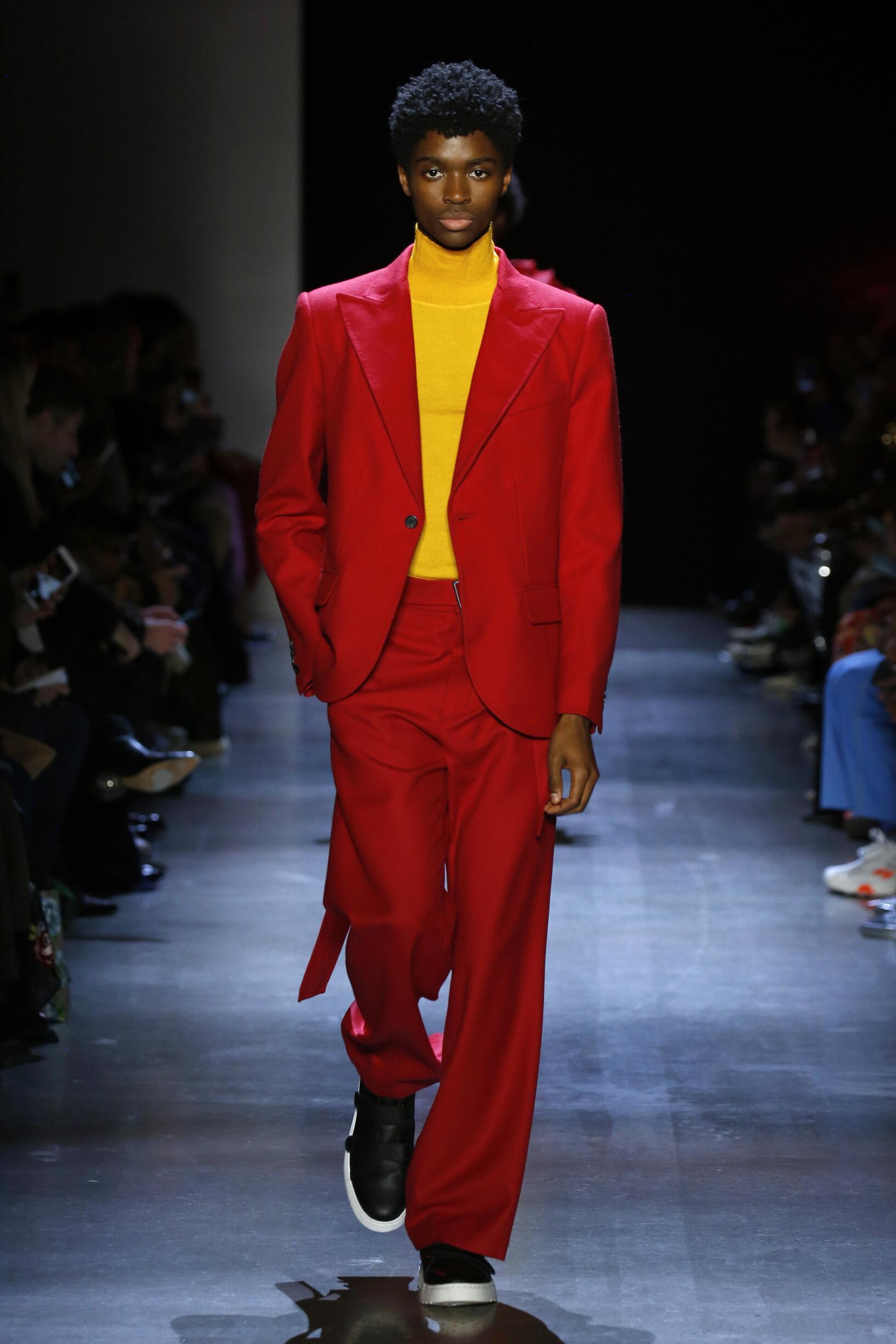 Prabal Gurung FW 2019 Menswear