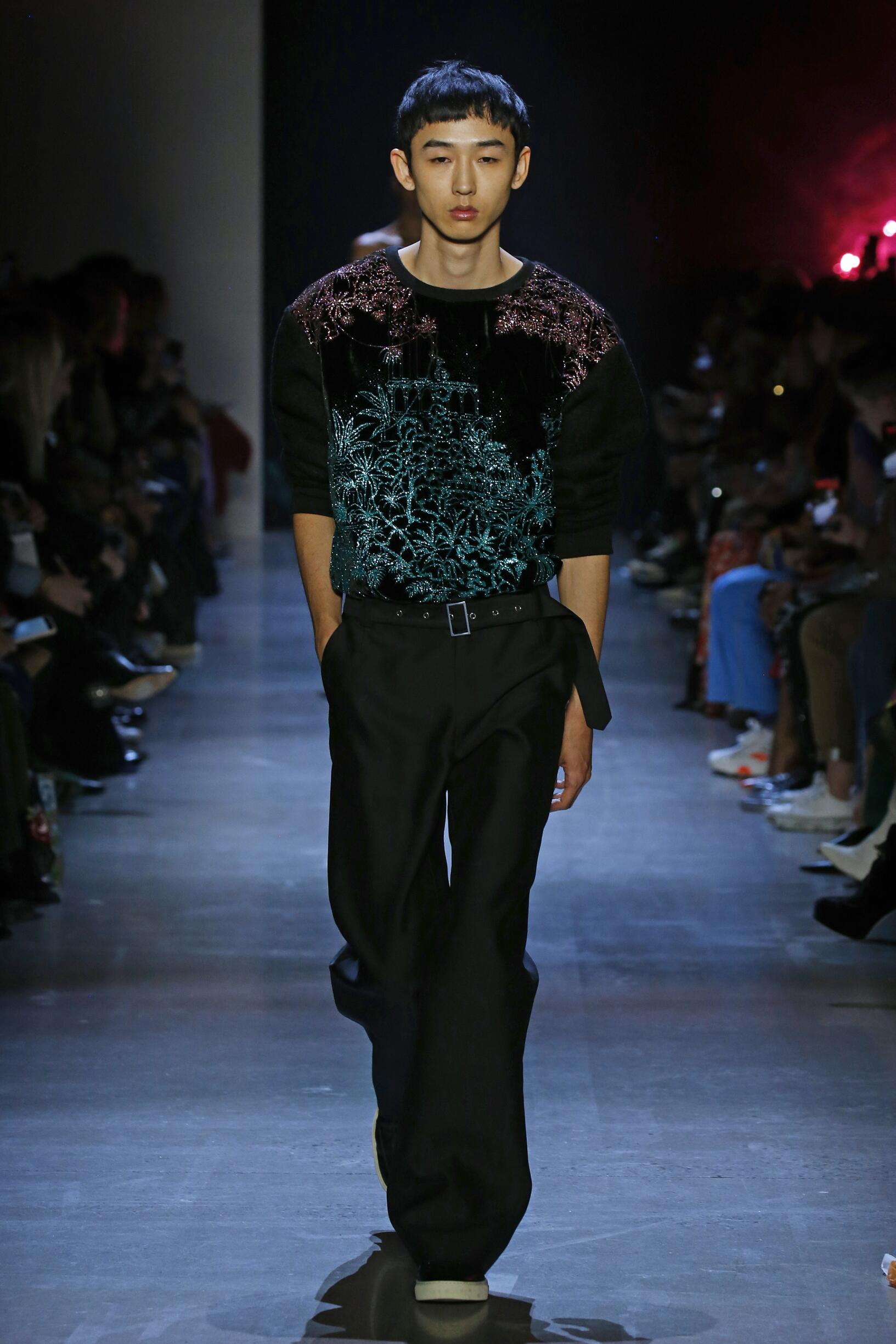 Prabal Gurung New York Fashion Week Menswear