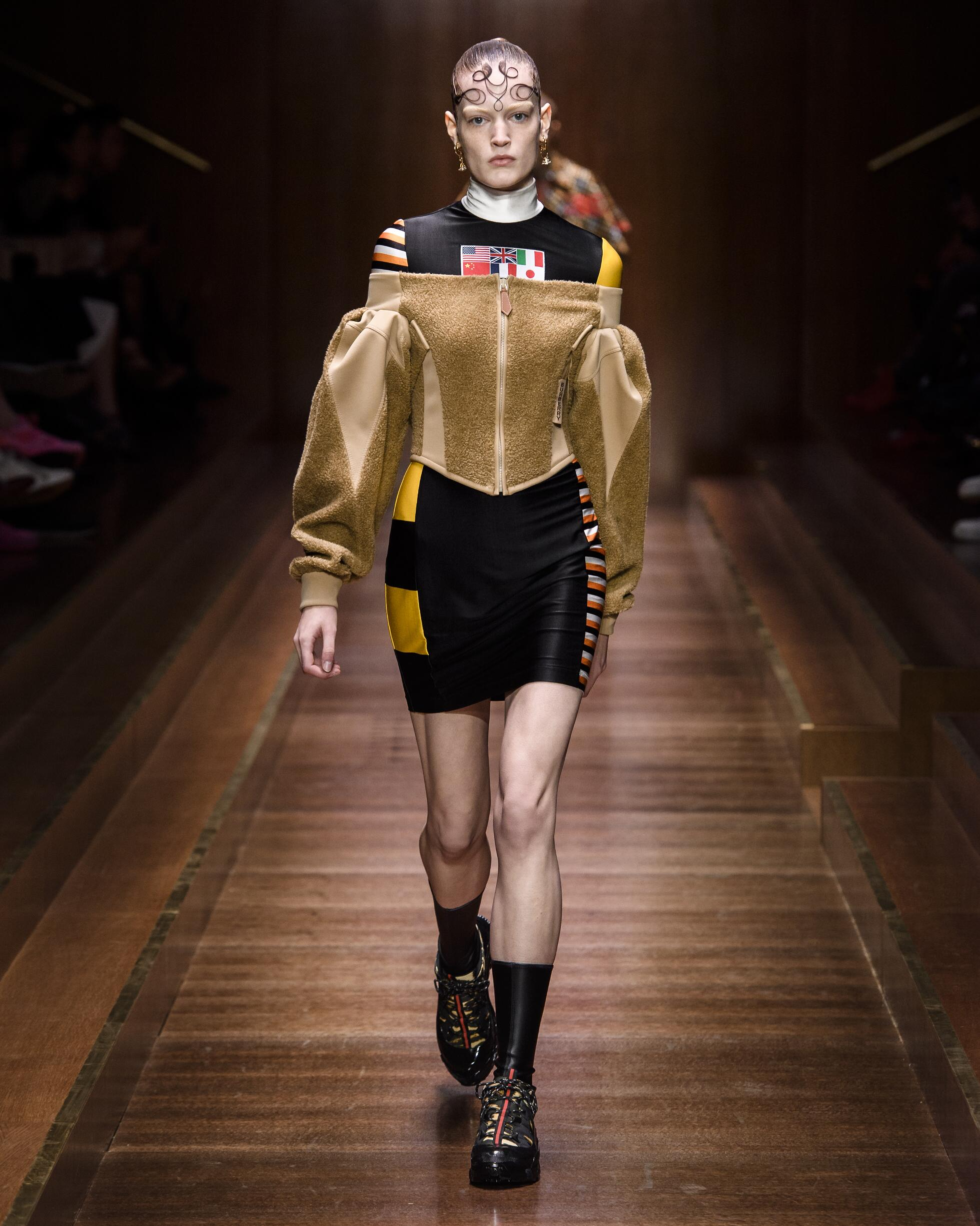 Runway Burberry Fall Winter 2019 Collection London Fashion Week