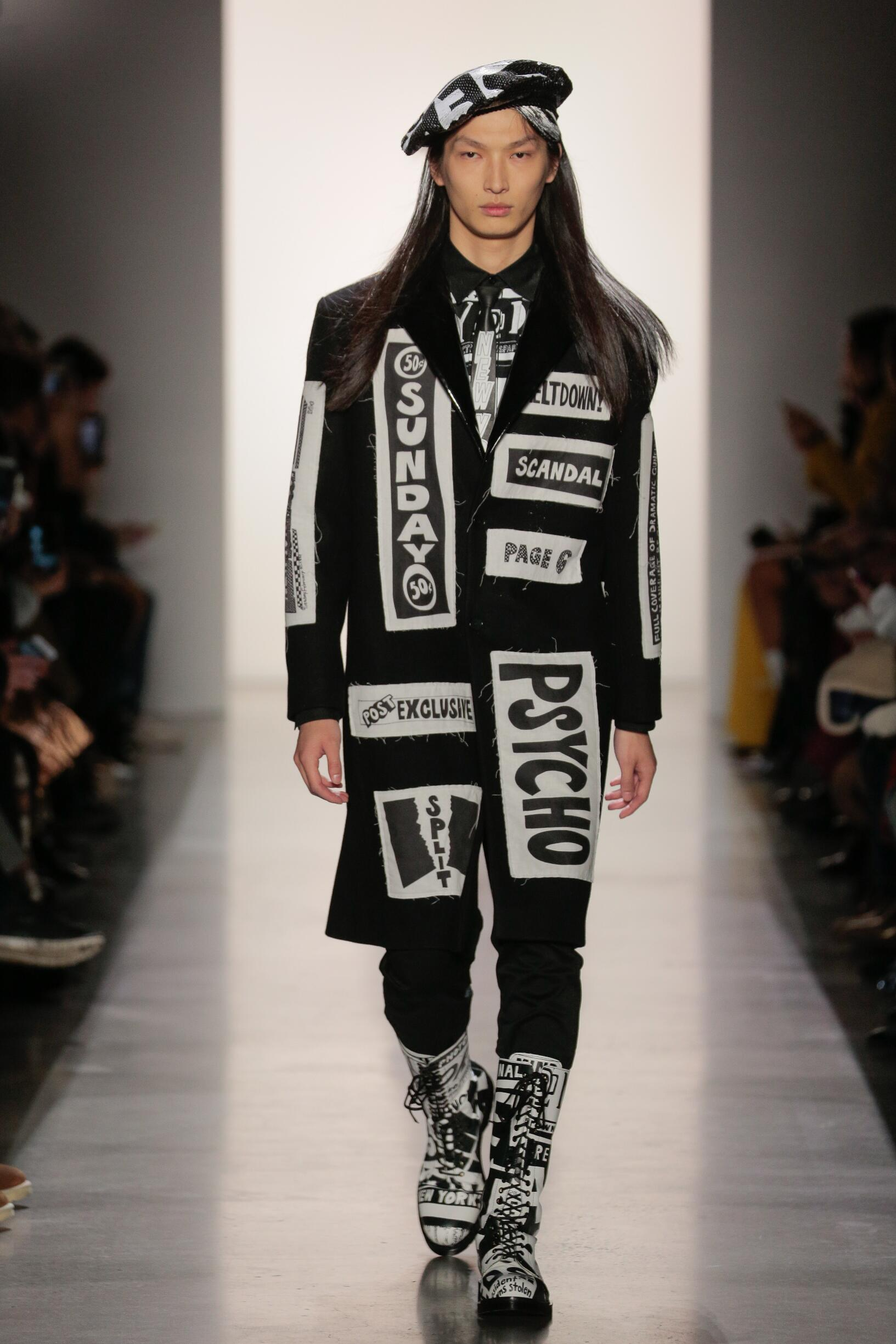 Runway Jeremy Scott Fall Winter 2019 Collection New York Fashion Week